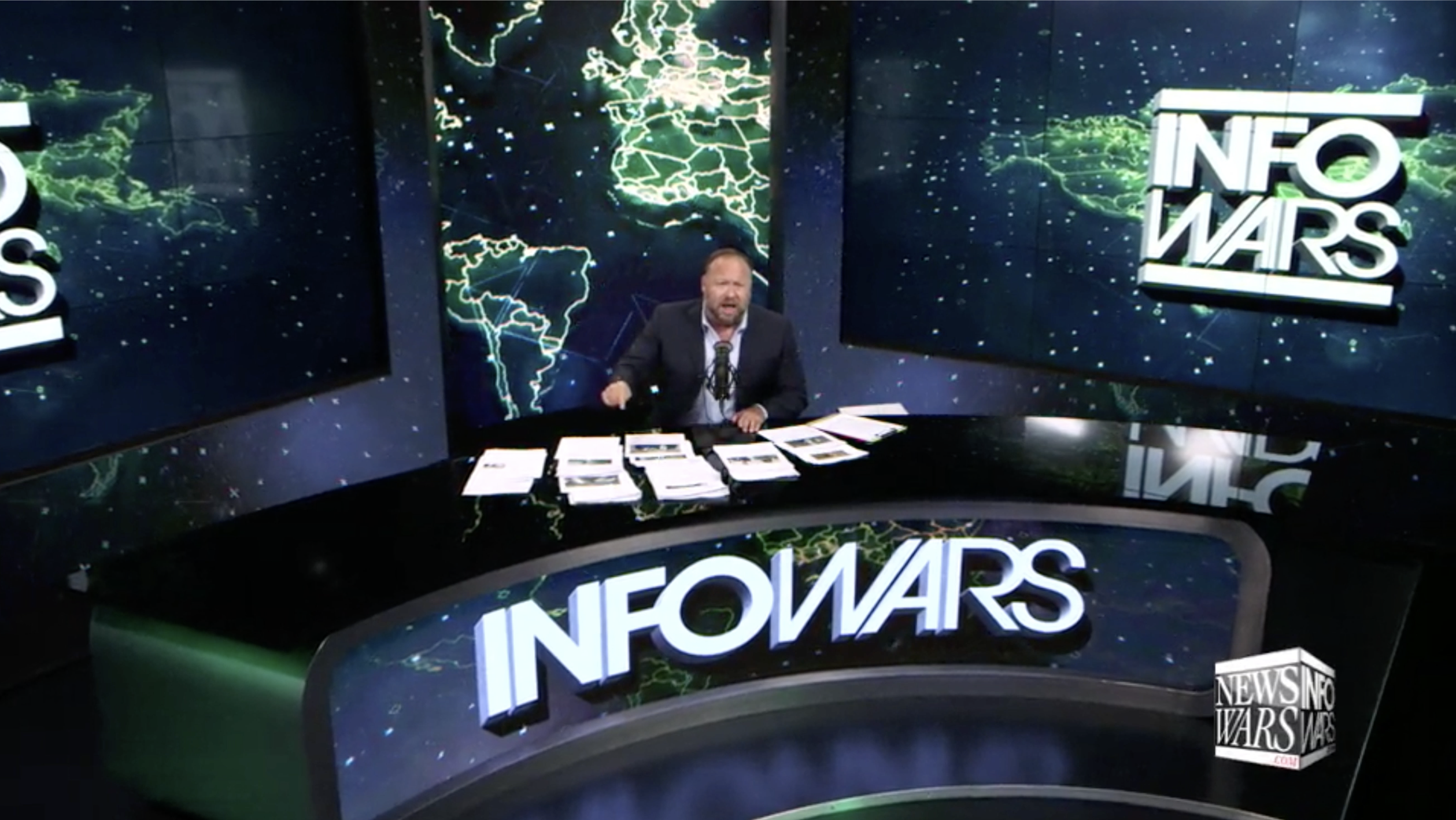 Alex Jones Infowars Studio EXZM August 7th 2020