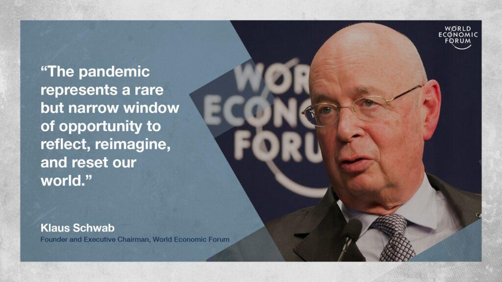 Klaus Schwab World Economic Forum Strategic Intelligence The Great Reset August 16th 2020
