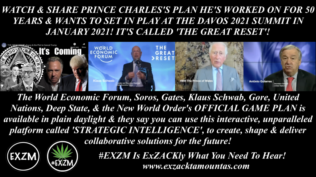 Prince Charles The Great Reset World Economic Forum Michael J Matt Strategic Intelligence EXZM August 18th 2020