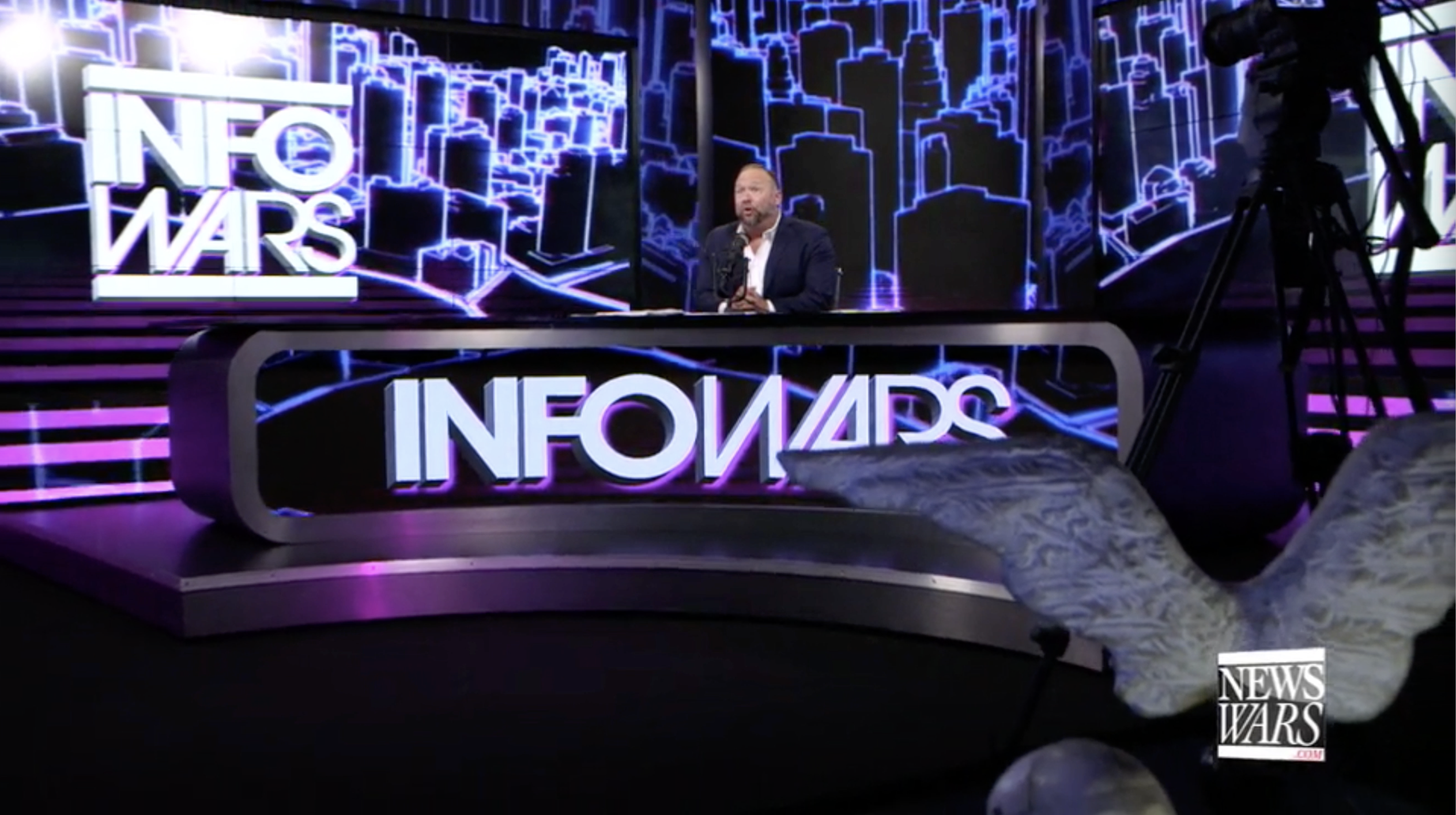 Alex Jones Infowars Studio EXZM September 10th 2020