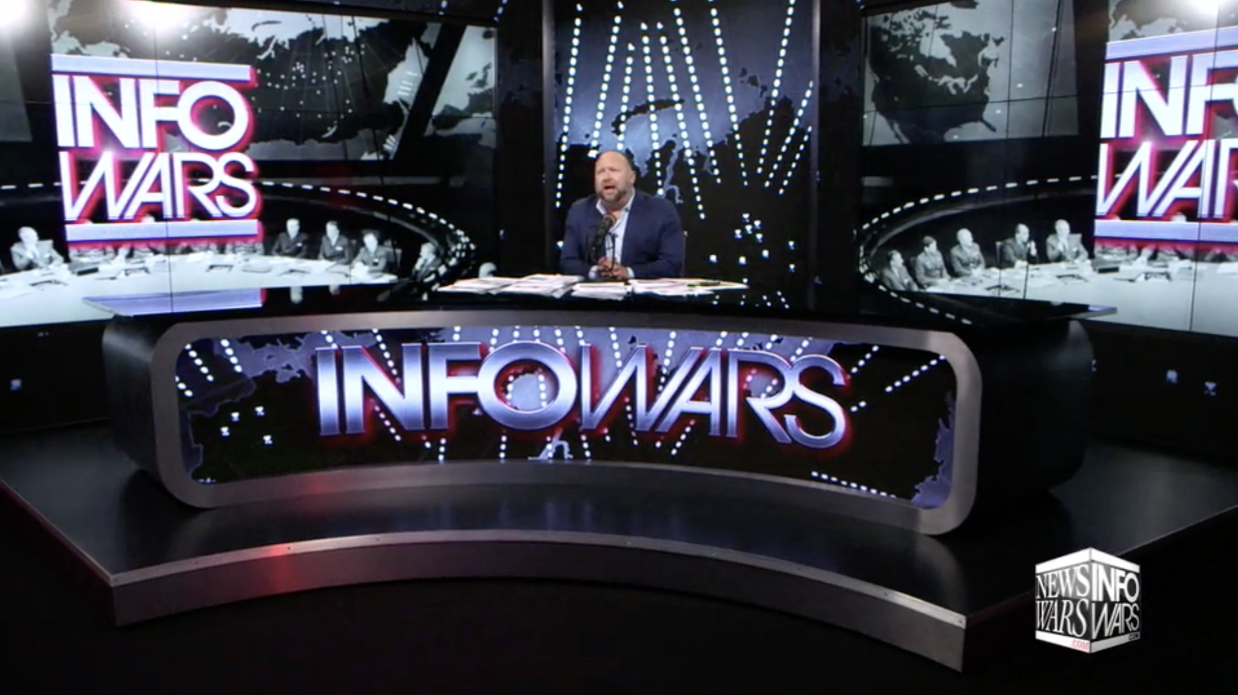 Alex Jones Infowars Studio EXZM September 11th 2020