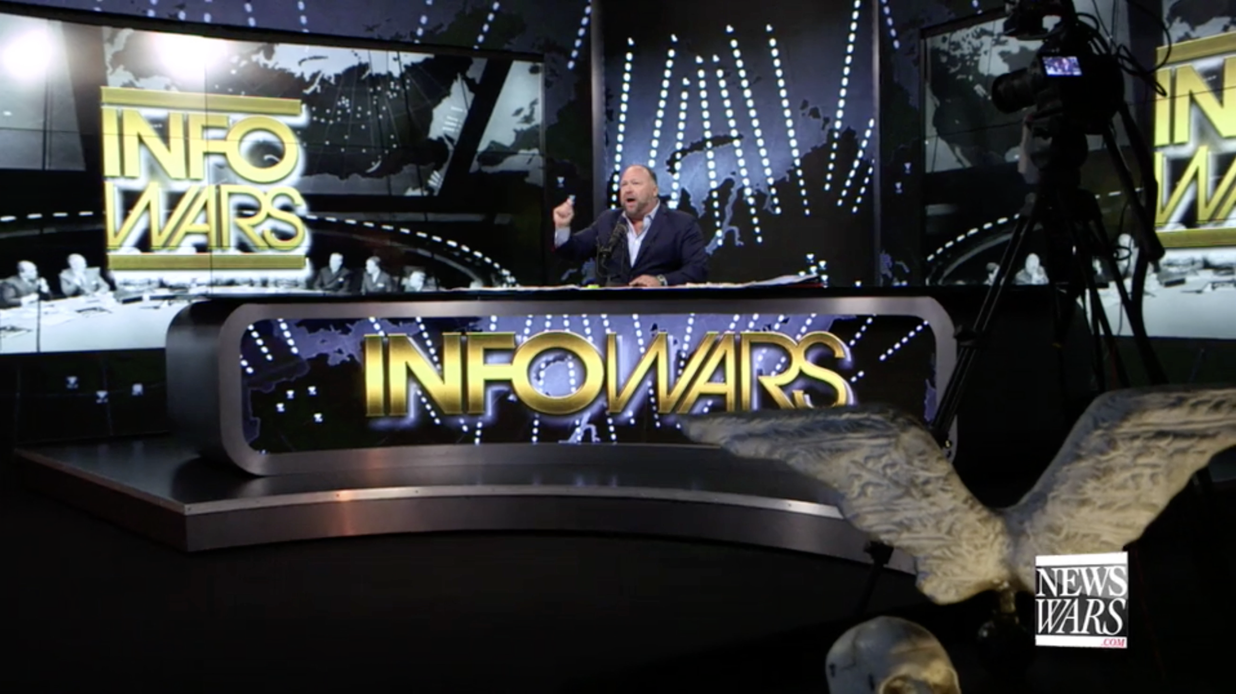 Alex Jones Infowars Studio EXZM September 15th 2020