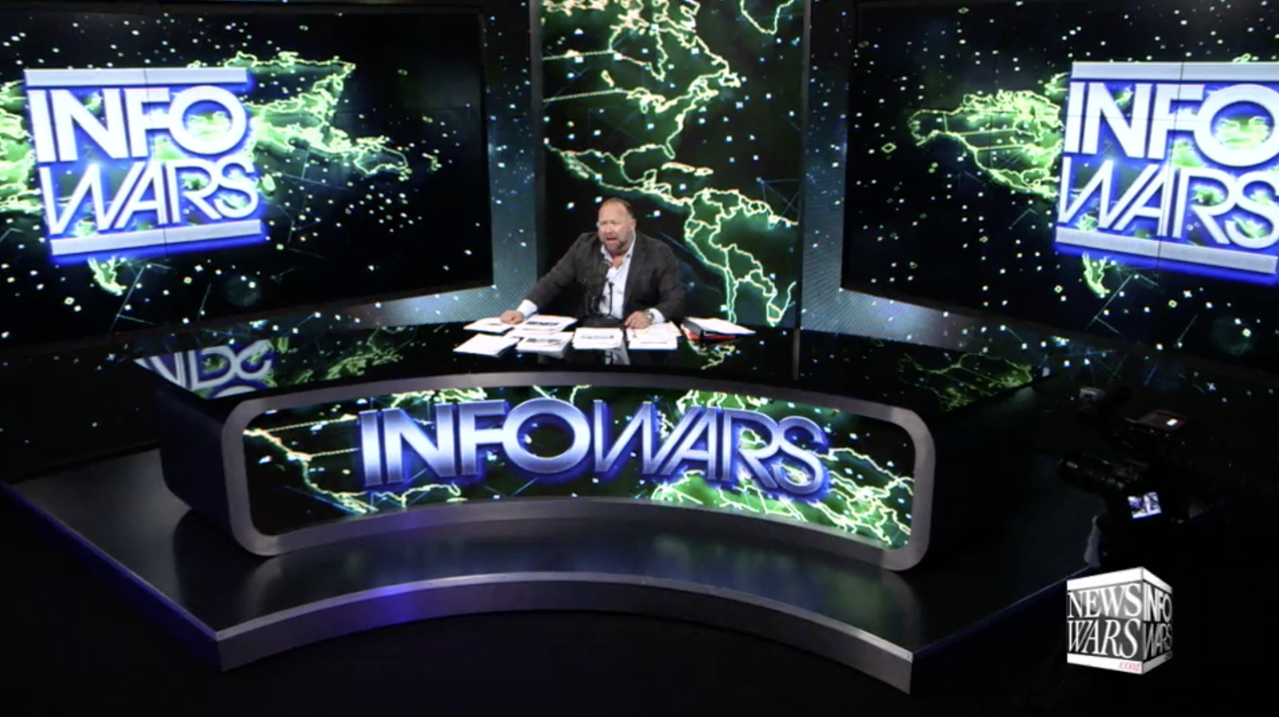 Alex Jones Infowars Studio EXZM September 17th 2020