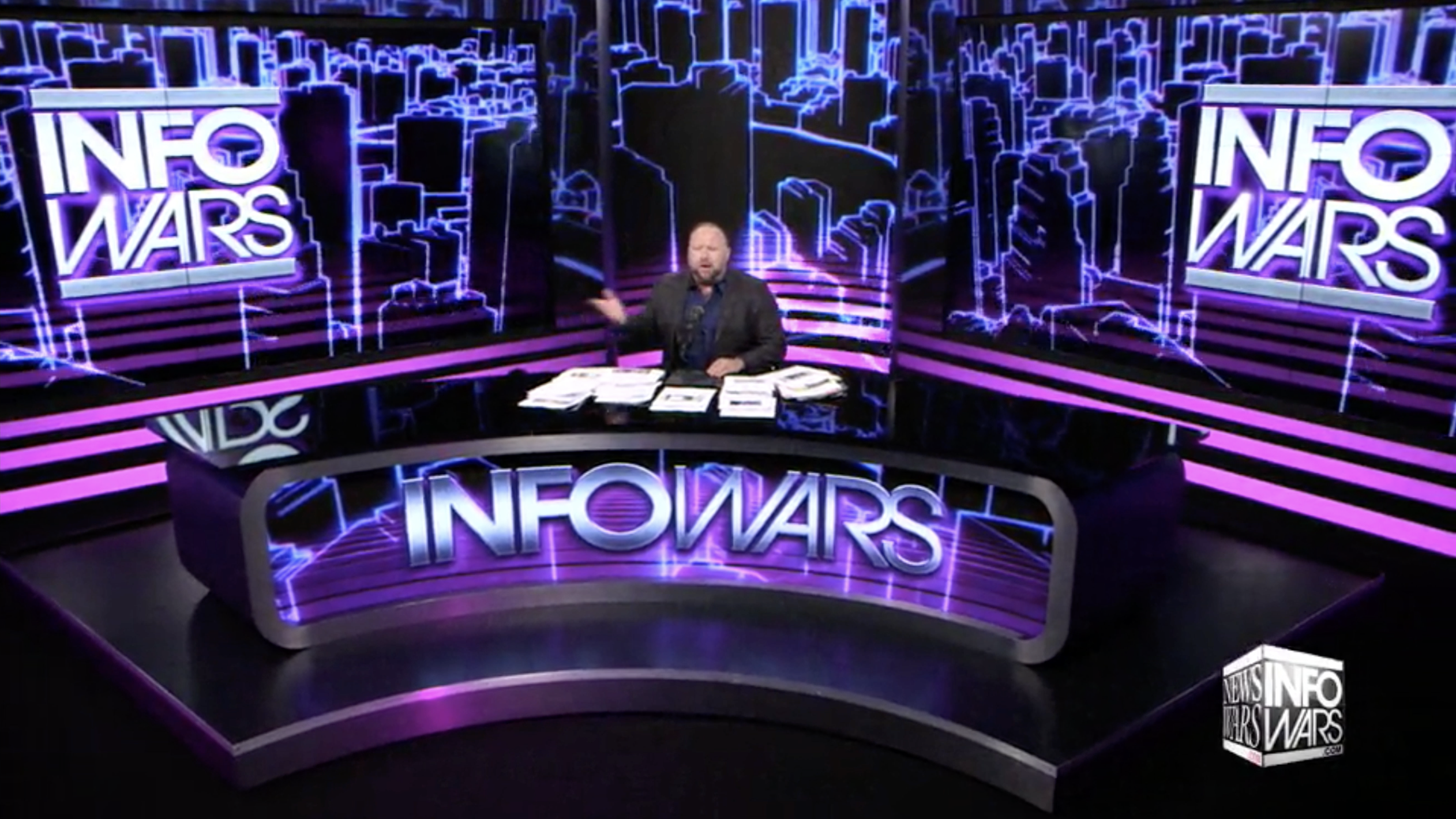 Alex Jones Infowars Studio EXZM September 18th 2020 2