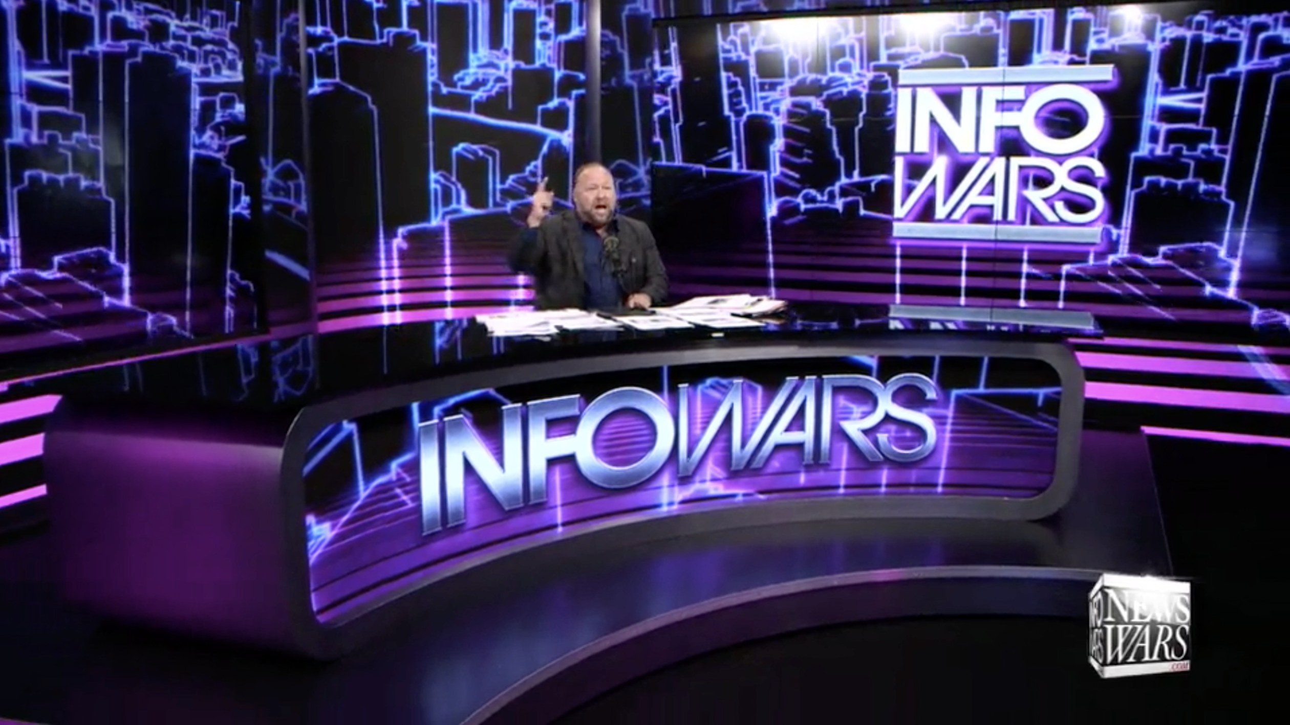 Alex Jones Infowars Studio EXZM September 18th 2020