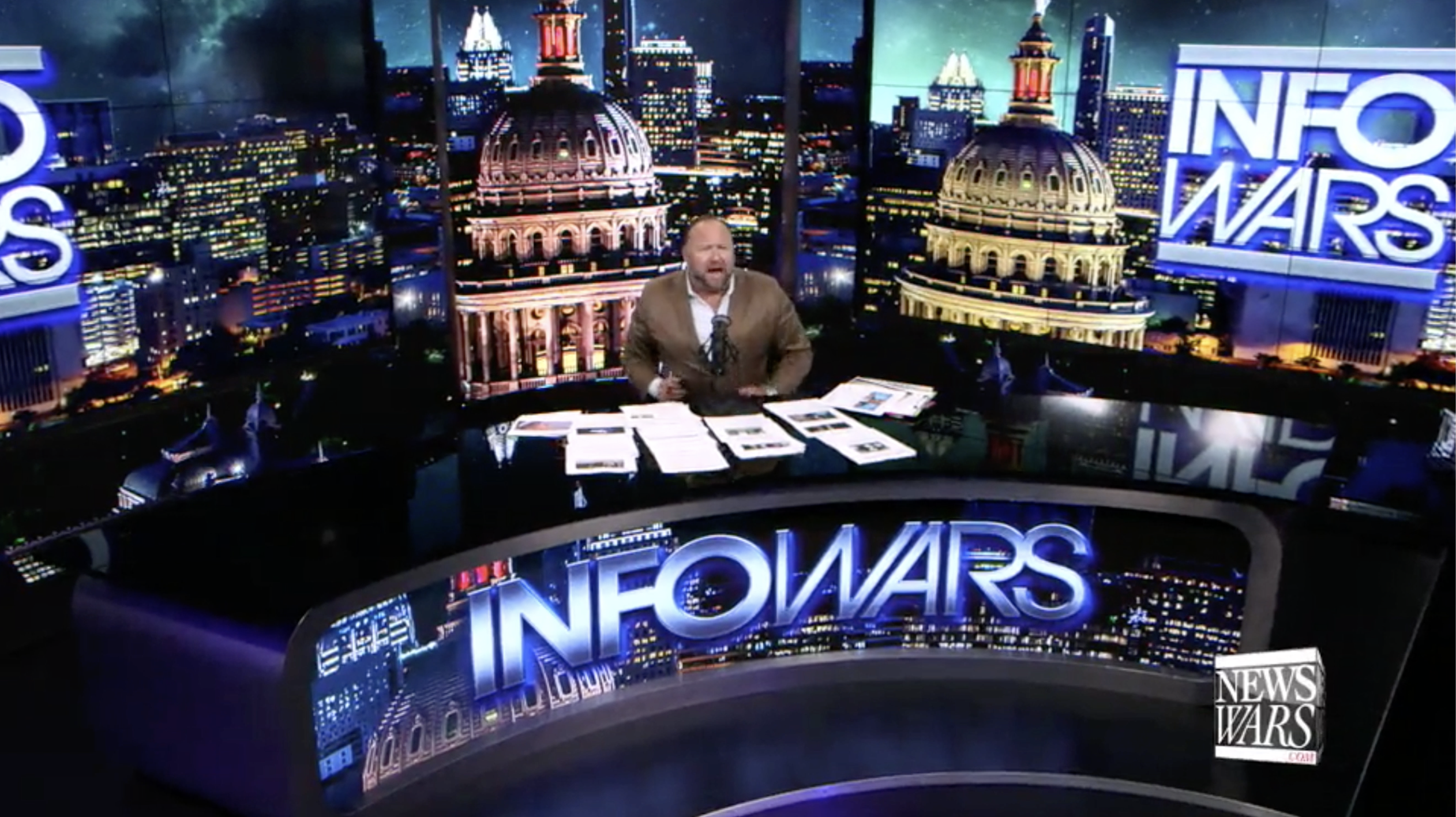 Alex Jones Infowars Studio EXZM September 1st 2020