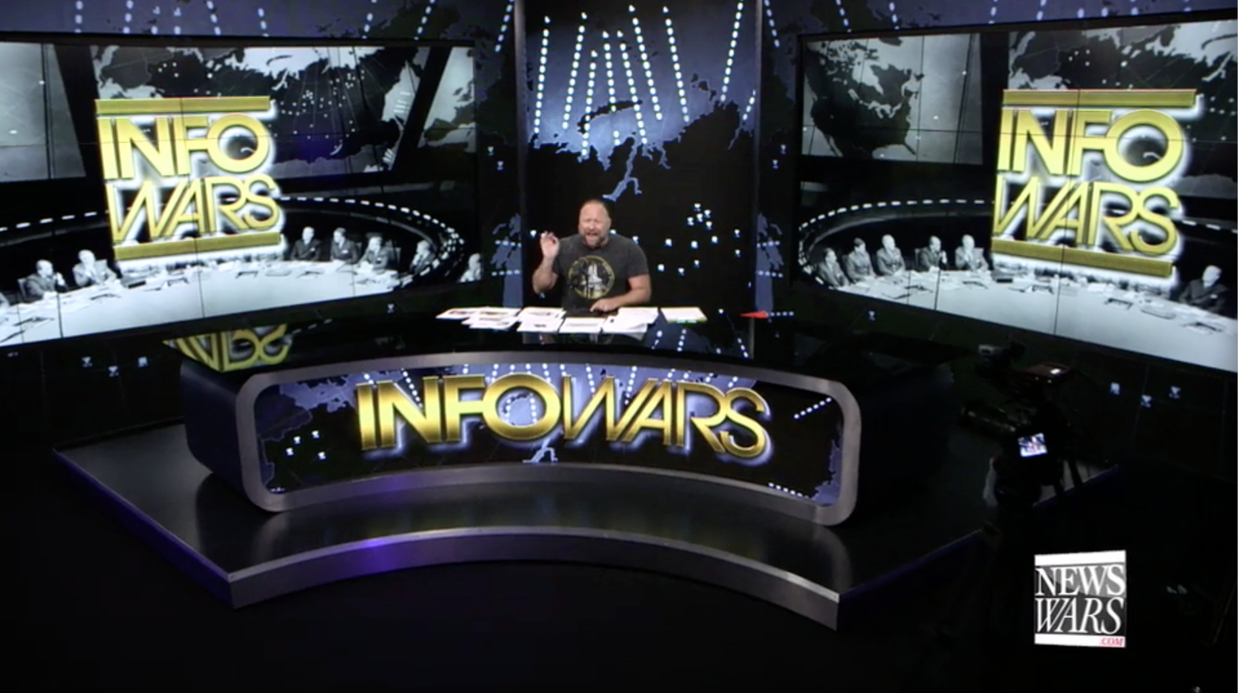 Alex Jones Infowars Studio EXZM September 23rd 2020