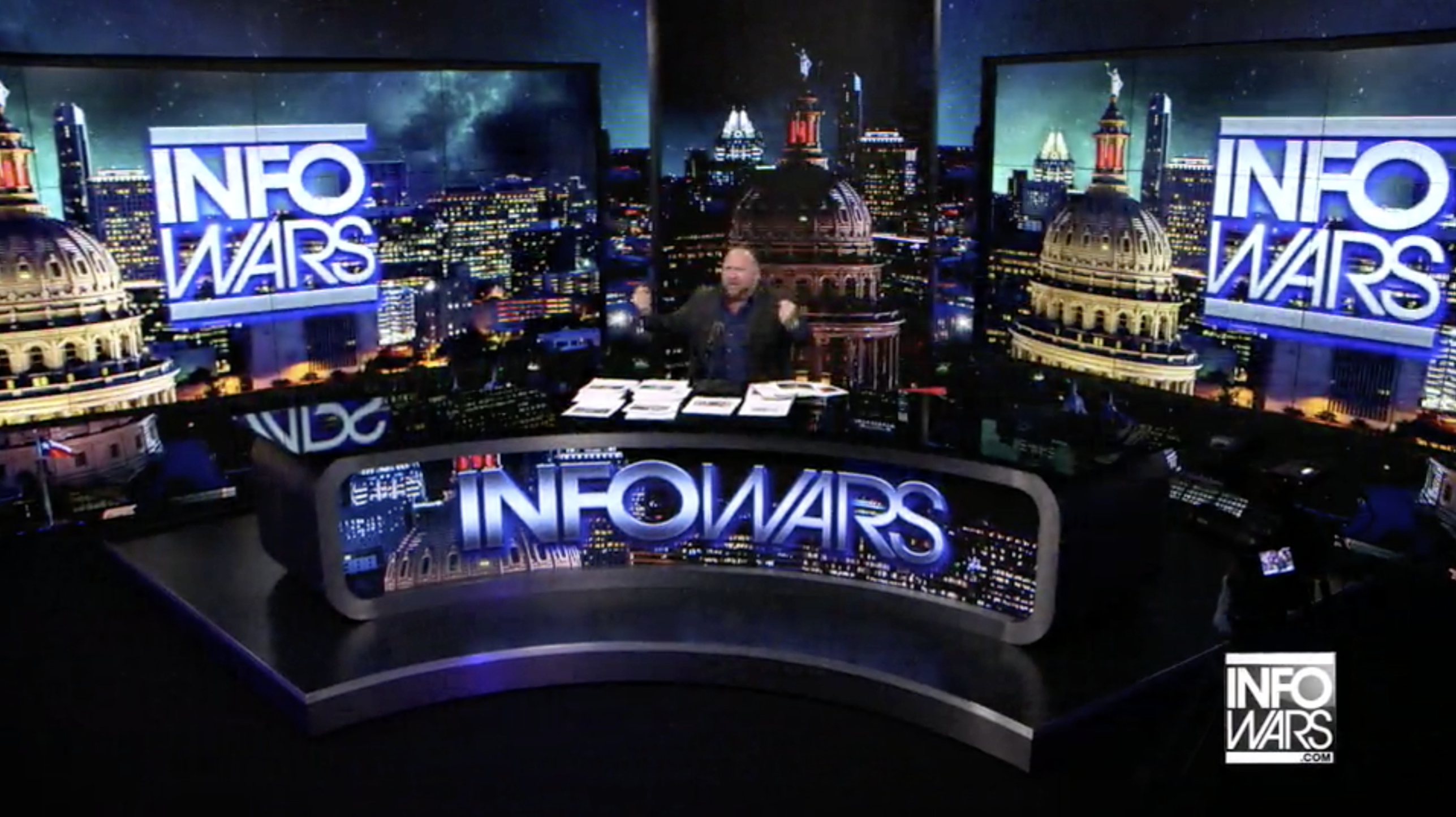Alex Jones Infowars Studio EXZM September 25th 2020