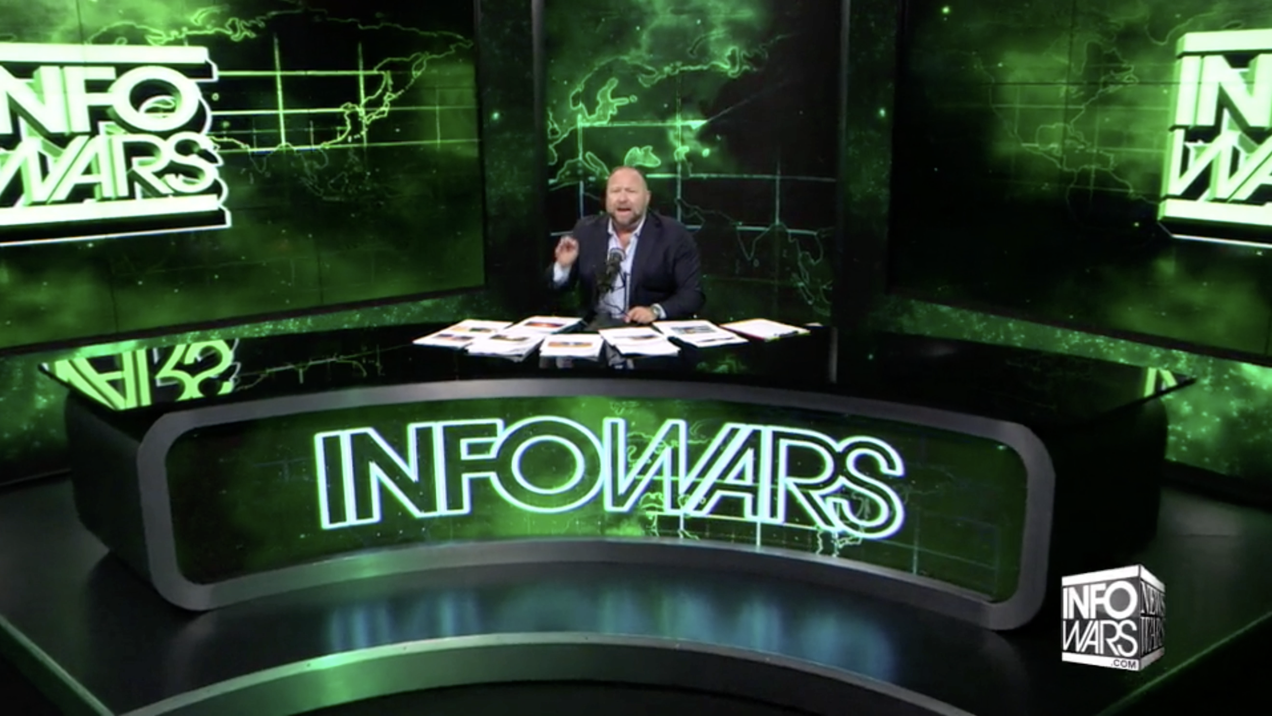 Alex Jones Infowars Studio EXZM September 2nd 2020 copy