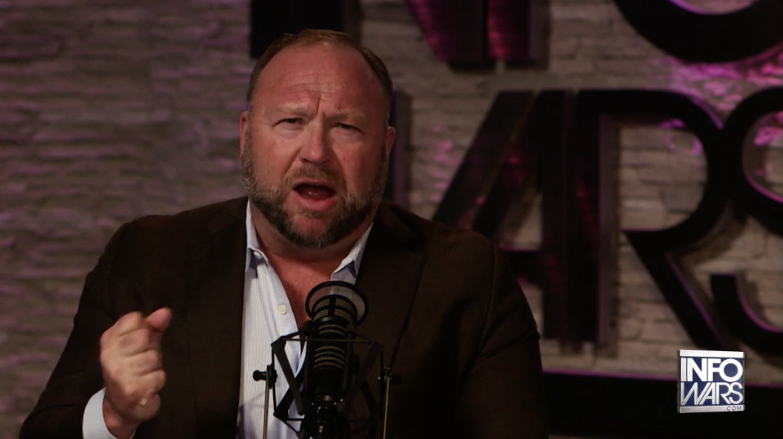 Alex Jones Infowars Studio EXZM September 7th 2020