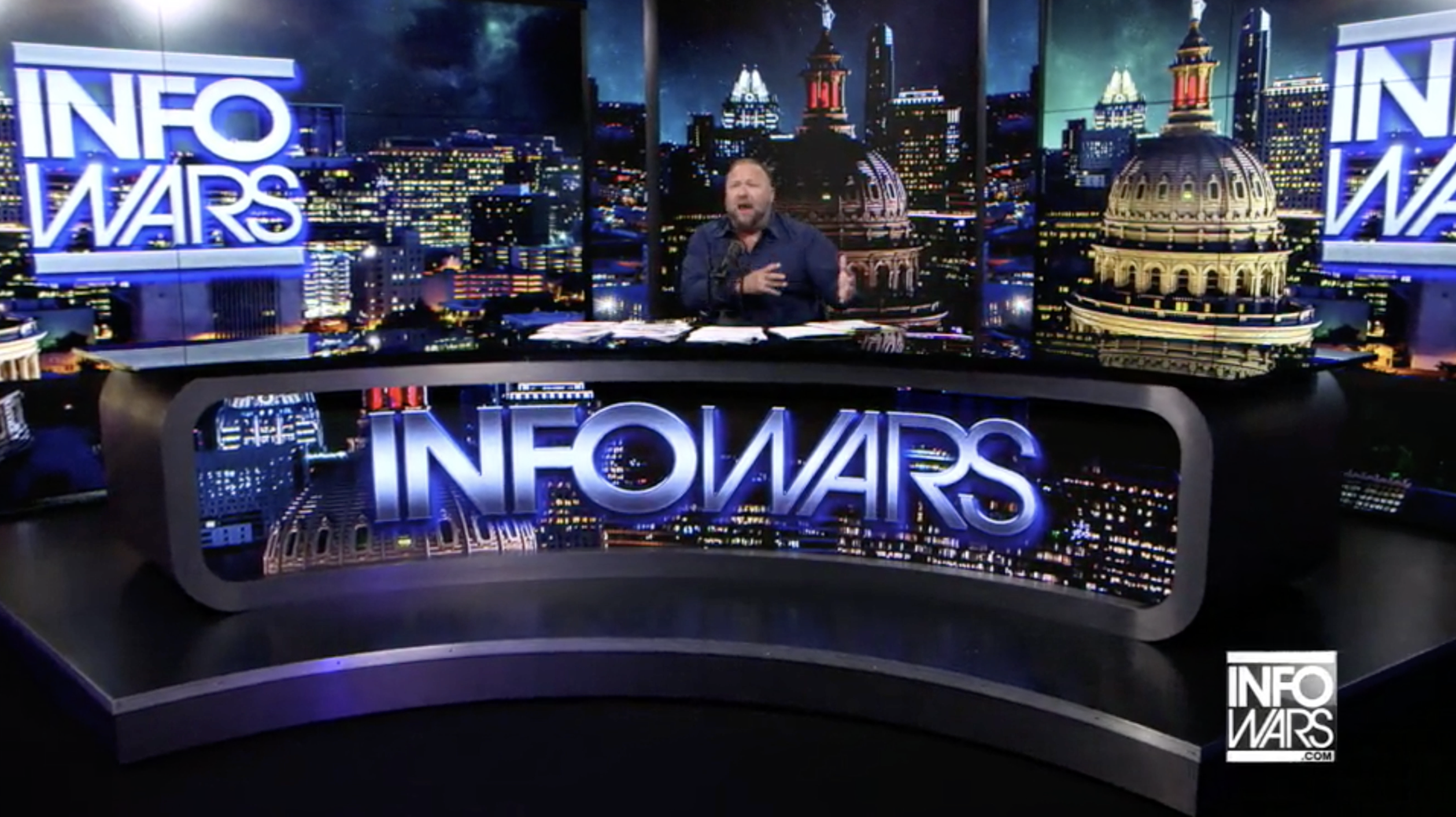 Alex Jones Infowars Studio EXZM September 9th 2020