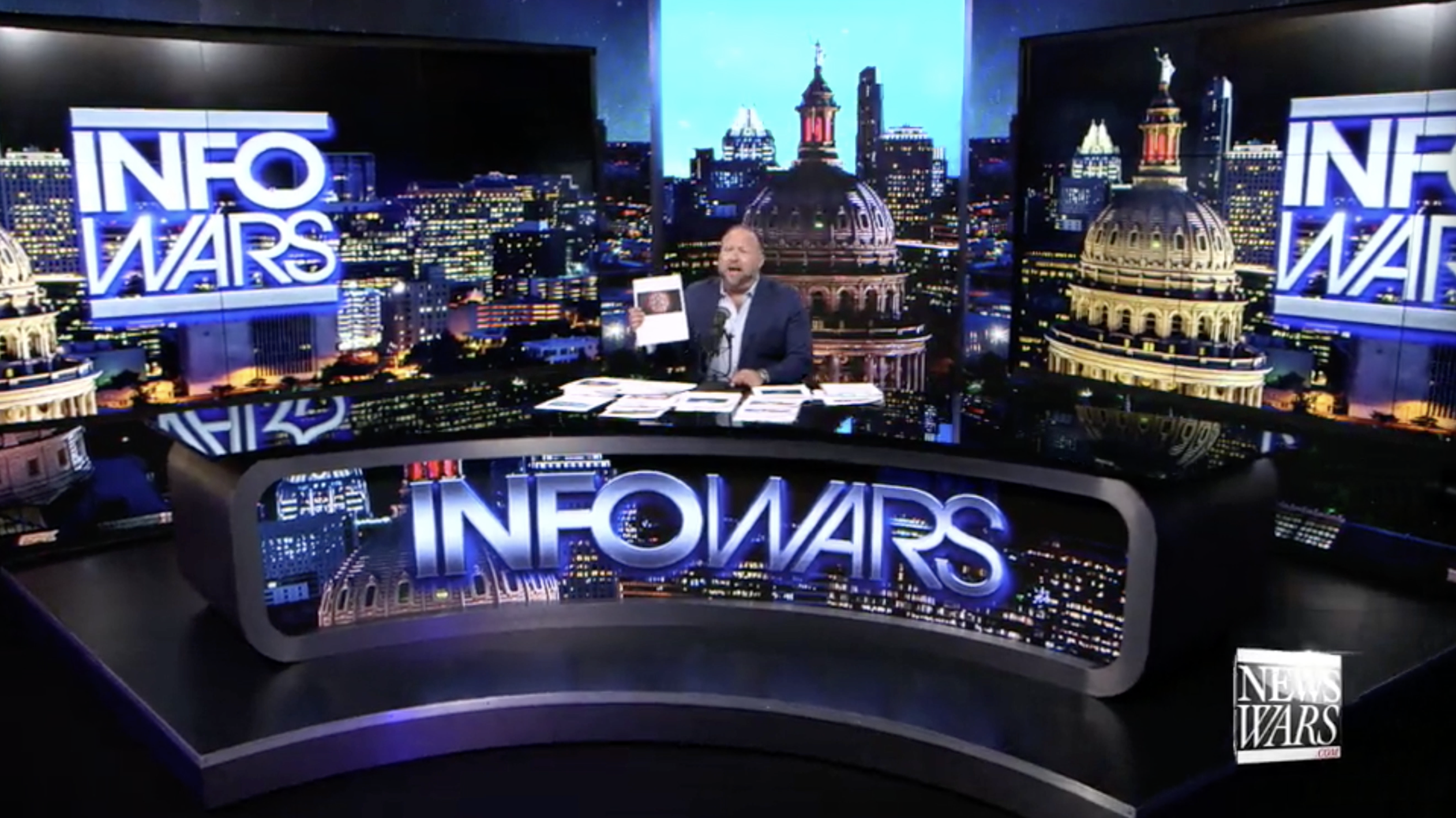 Alex Jones Infowars Studio WHISTLEBLOWERS CONFIRM CHINA RELEASED COVID19 EXZM September 16th 2020