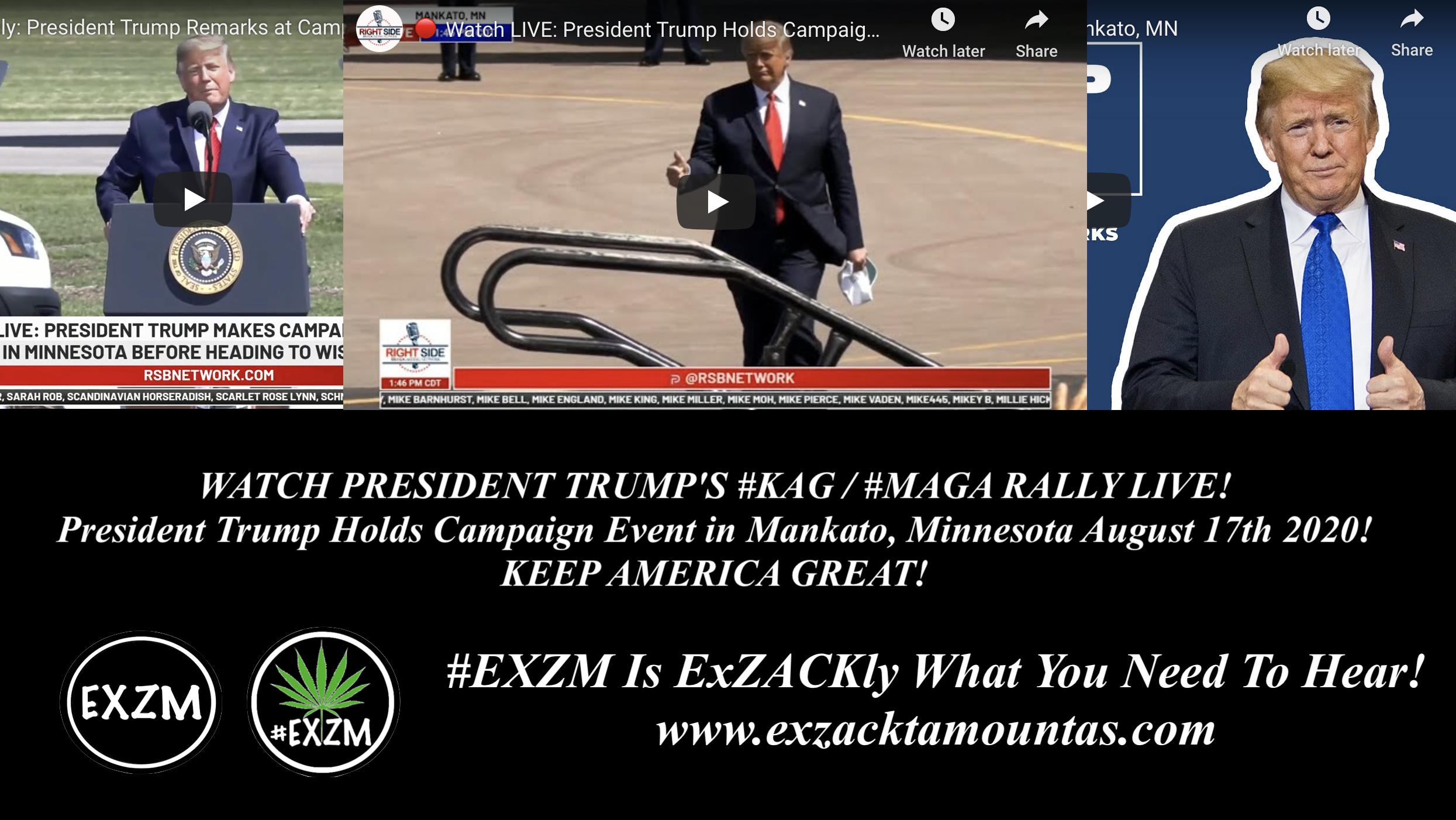 President Donald Trump KAG MAGA Rally Mankato Minnesota August 17th 2020