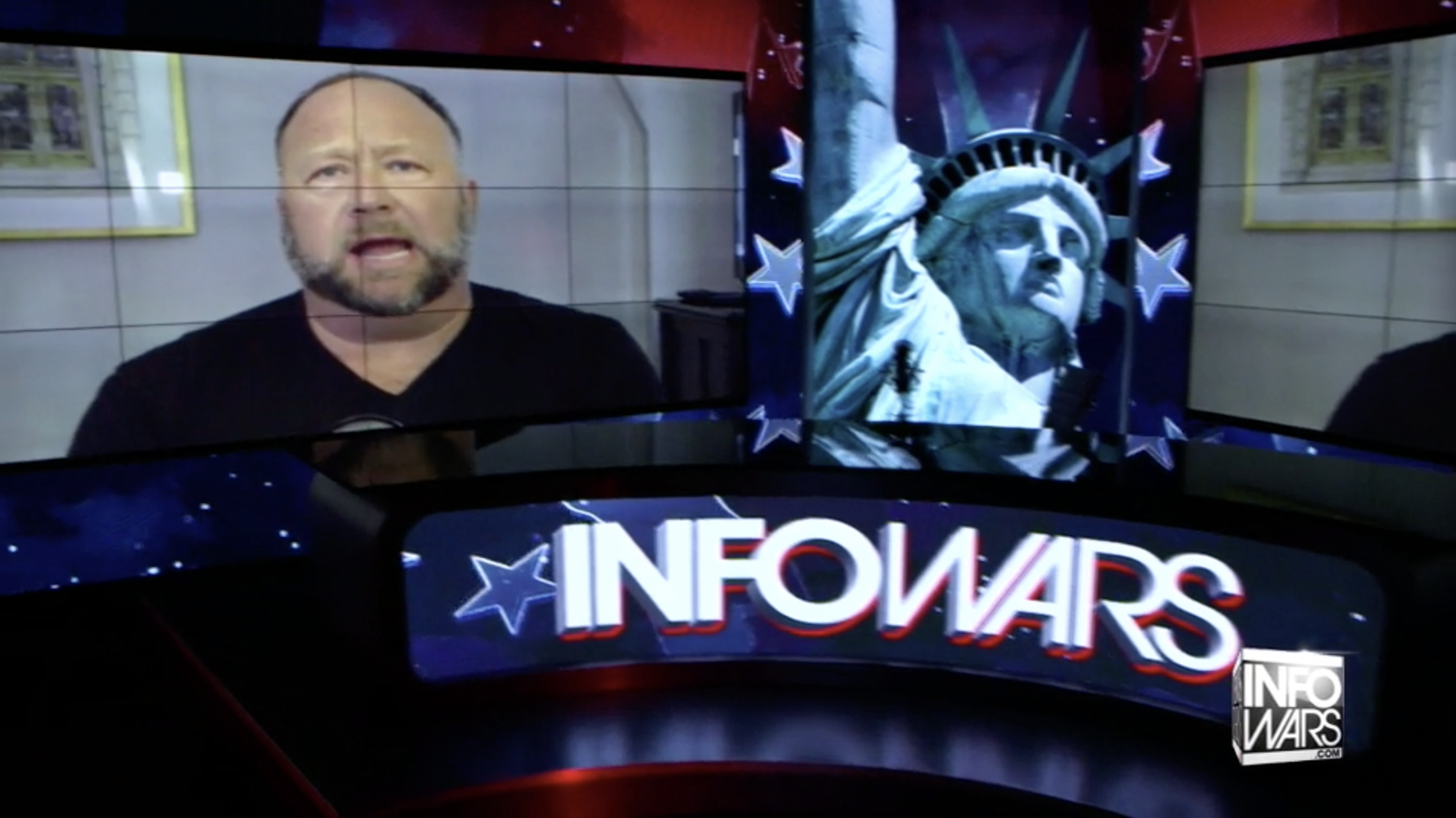 Alex Jones In Infowars Studio Washington DC EXZM Zack Mount November 13th 2020