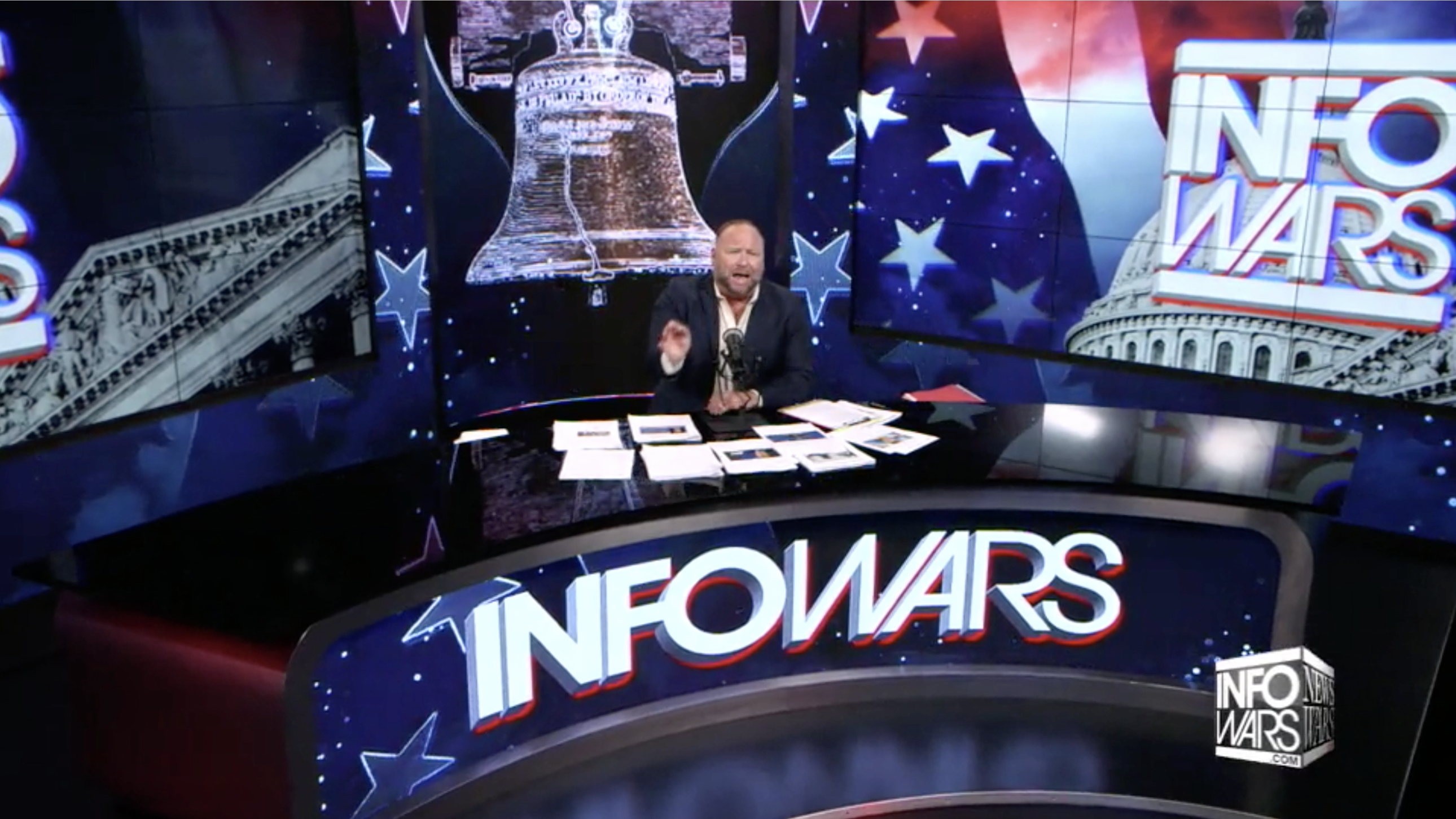 Alex Jones Infowars Studio EXZM Zack Mount November 30th 2020