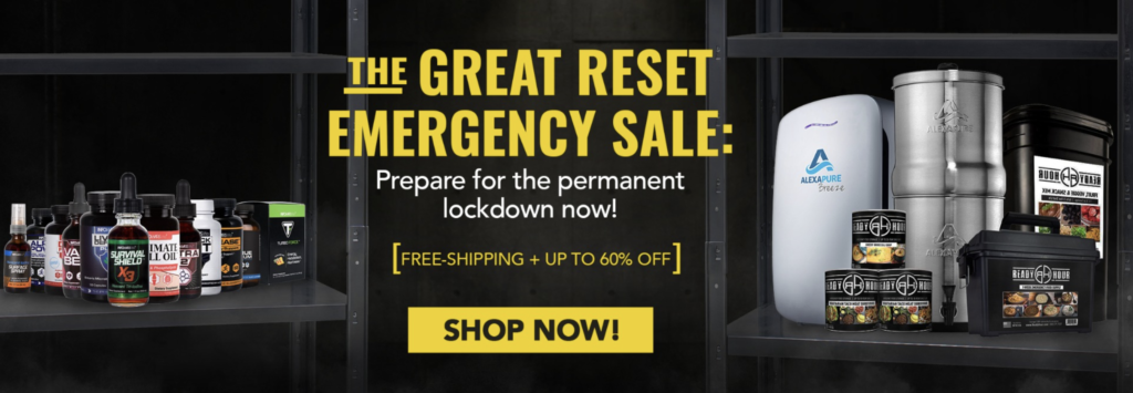 The Great Reset Infowars Store EXZM November 24th 2020 2