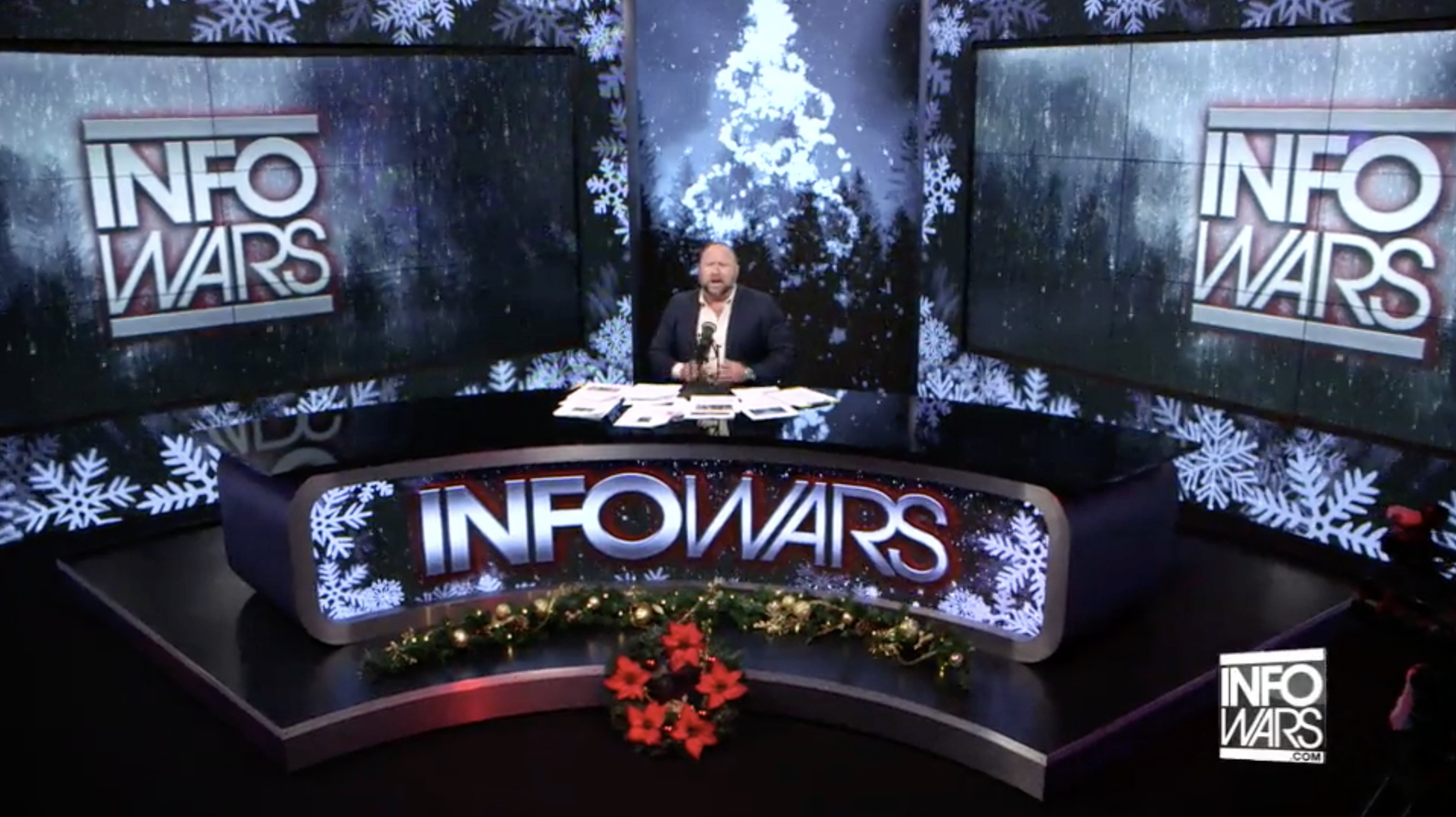 Alex Jones Infowars Studio EXZM Zack Mount December 28th 2020