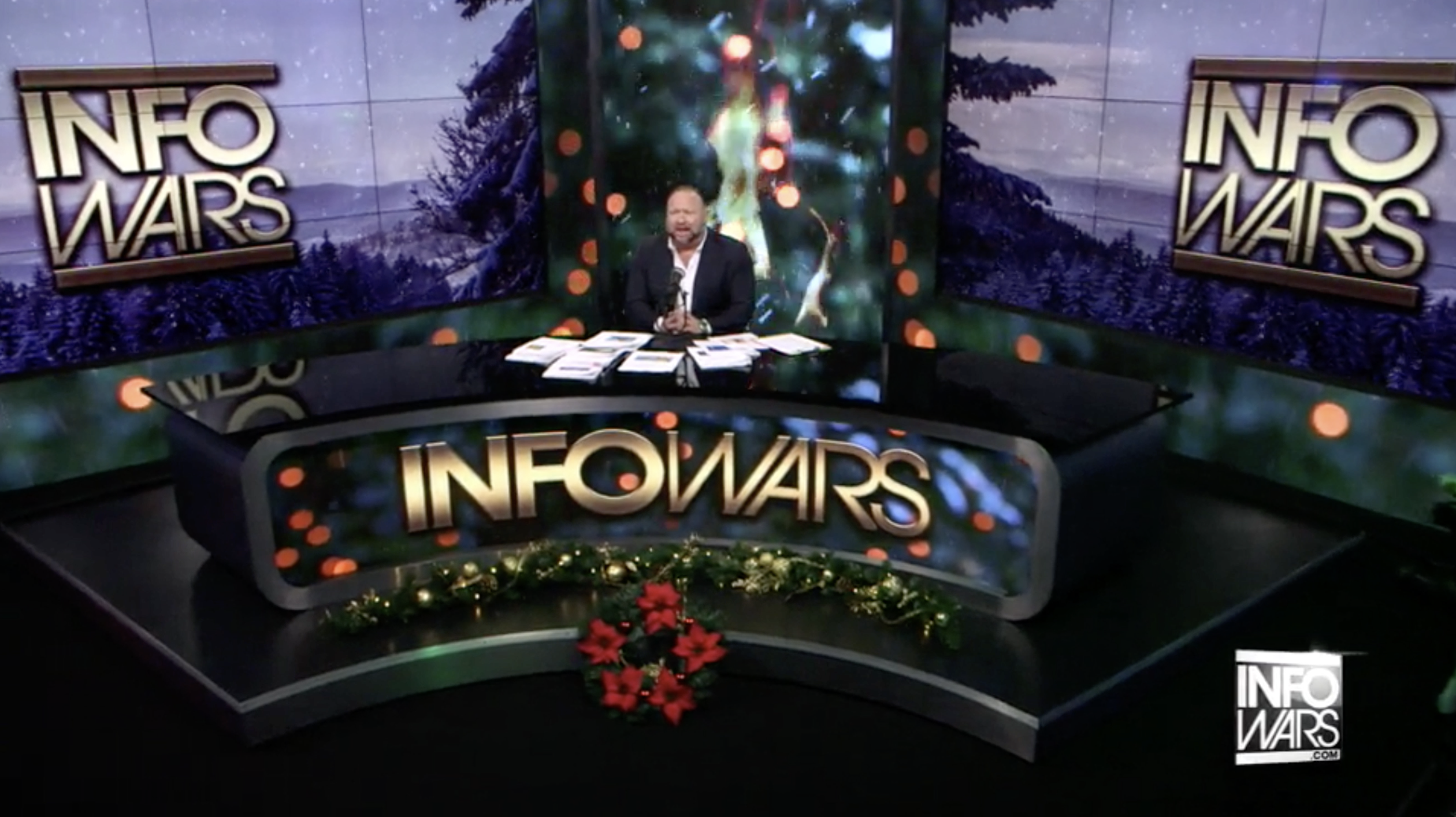 Alex Jones Infowars Studio EXZM Zack Mount December 29th 2020