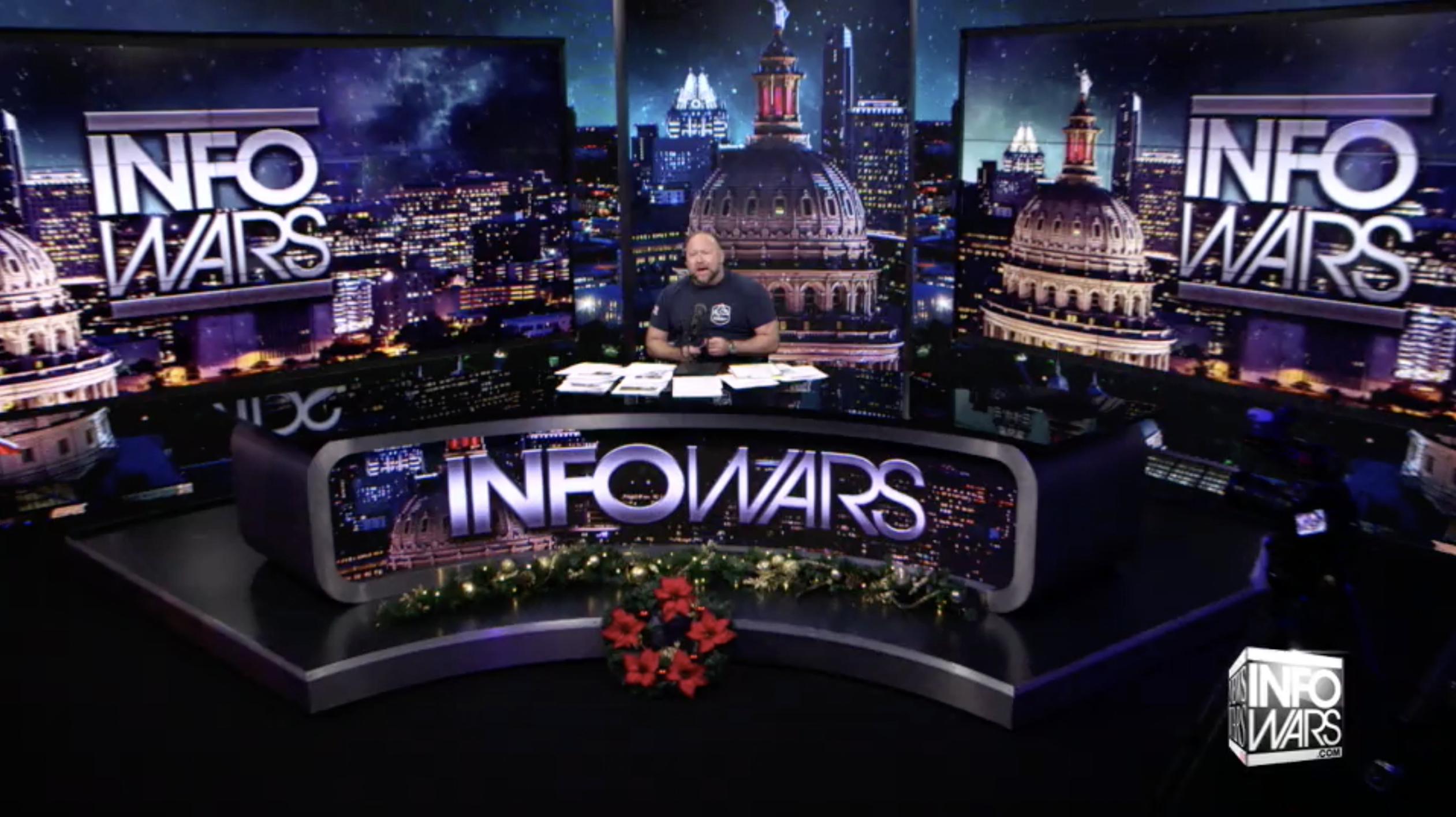 Alex Jones Infowars Studio EXZM Zack Mount December 30th 2020