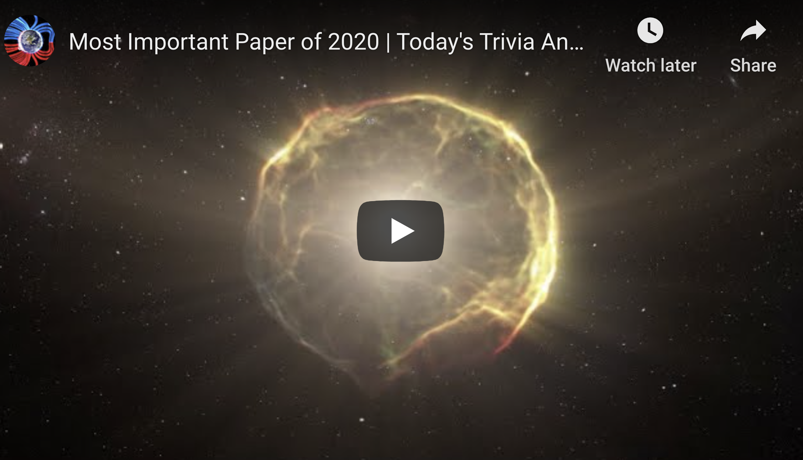 Most Important Paper of 2020 Todays Trivia Answer Suspicious Observers Post EXZM Zack Mount December 3rd 2020 copy
