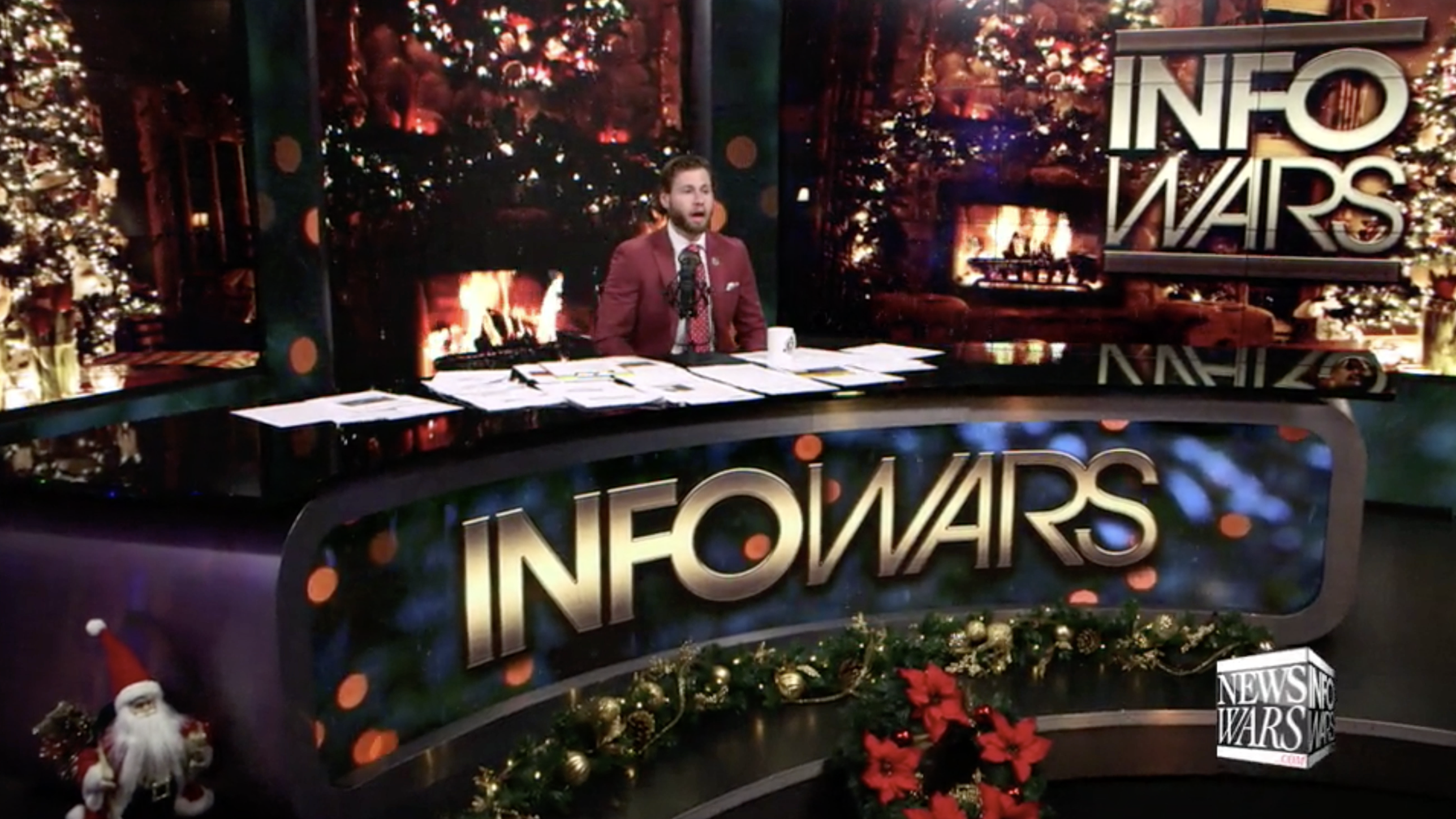 Owen Shroyer Christmas Infowars Studio EXZM Zack Mount December 22nd 2020