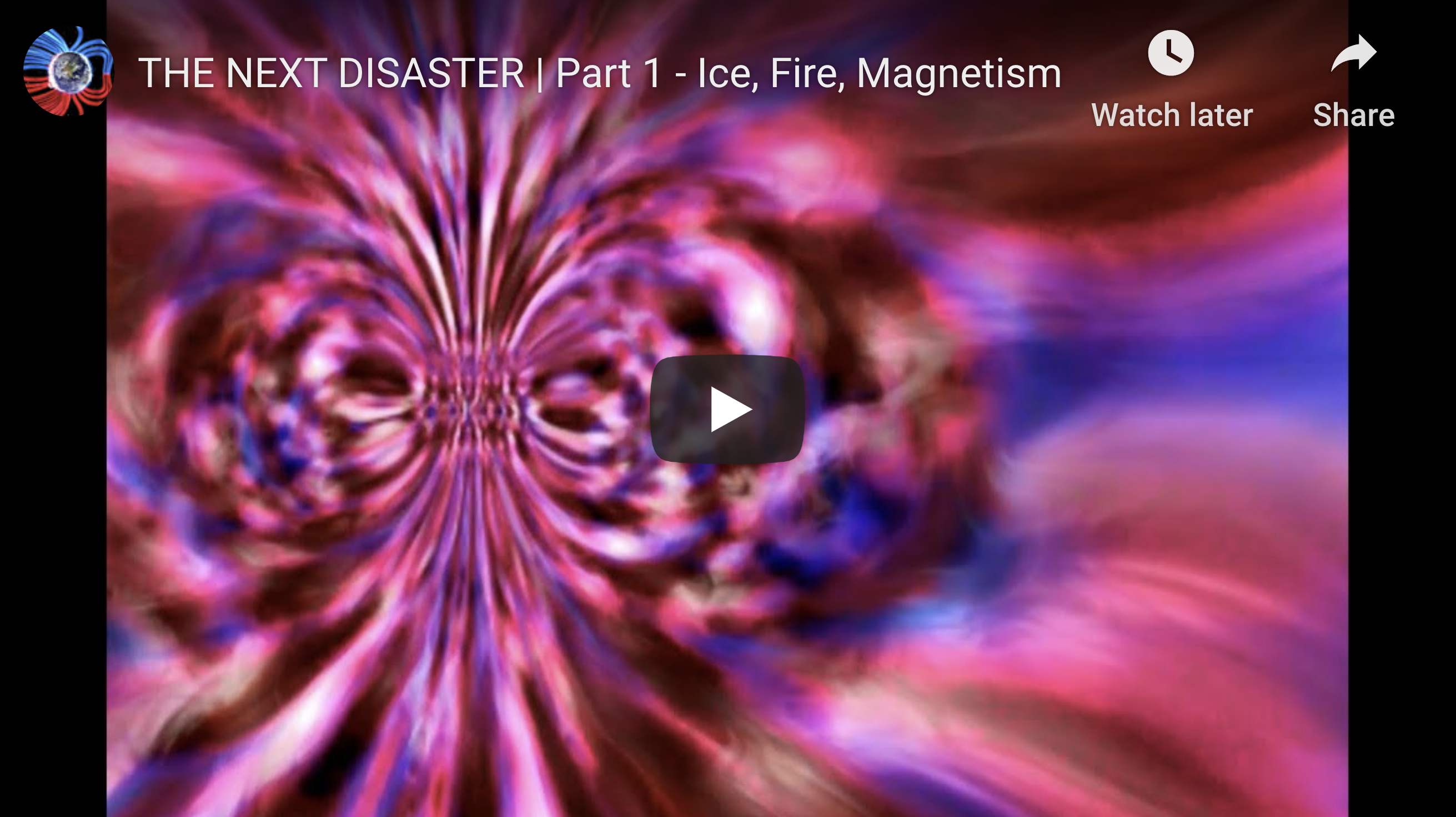 Suspicious Observers Post THE NEXT DISASTER Part 1 Ice, Fire, Magnetism EXZM Zack Mount December 25th 2020