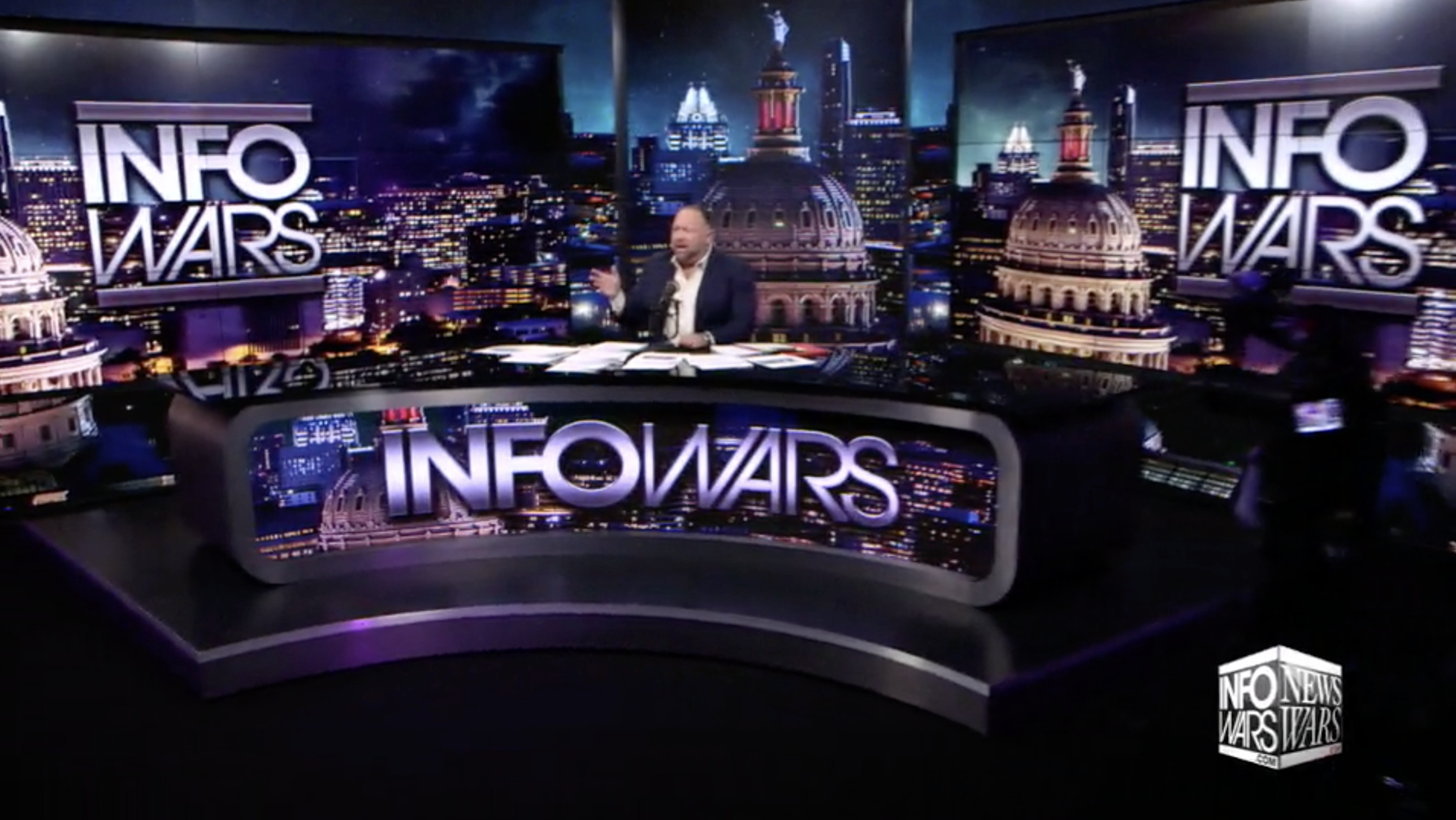 Alex Jones Infowars Studio EXZM Zack Mount January 3rd 2021