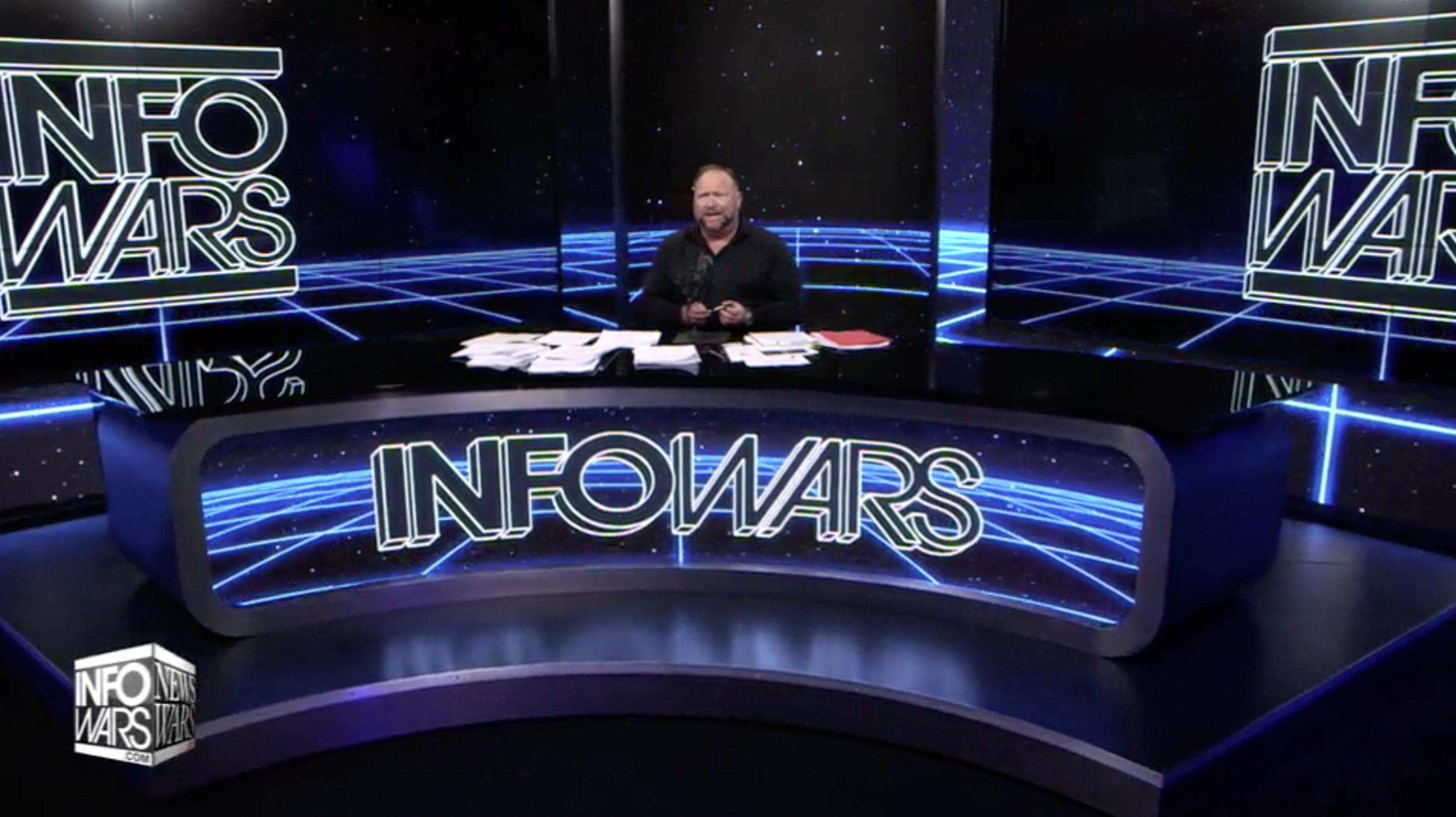 Alex Jones Infowars Studio The Resistance Video EXZM Zack Mount January 12th 2021