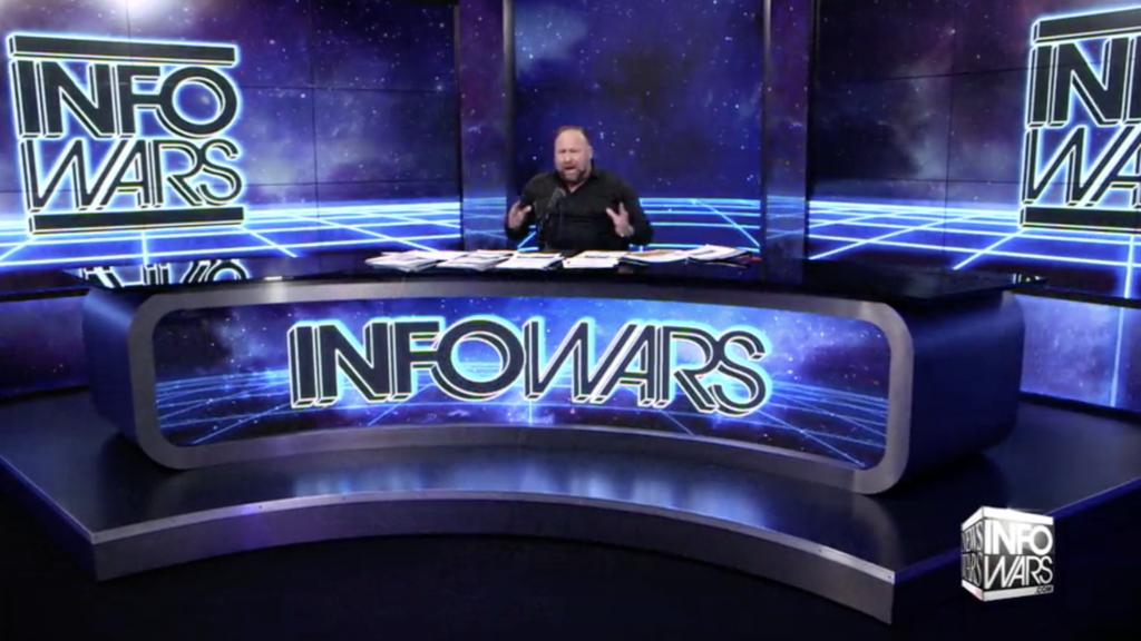 Alex Jones Infowars Studio The Resistance Video EXZM Zack Mount January 13th 2021