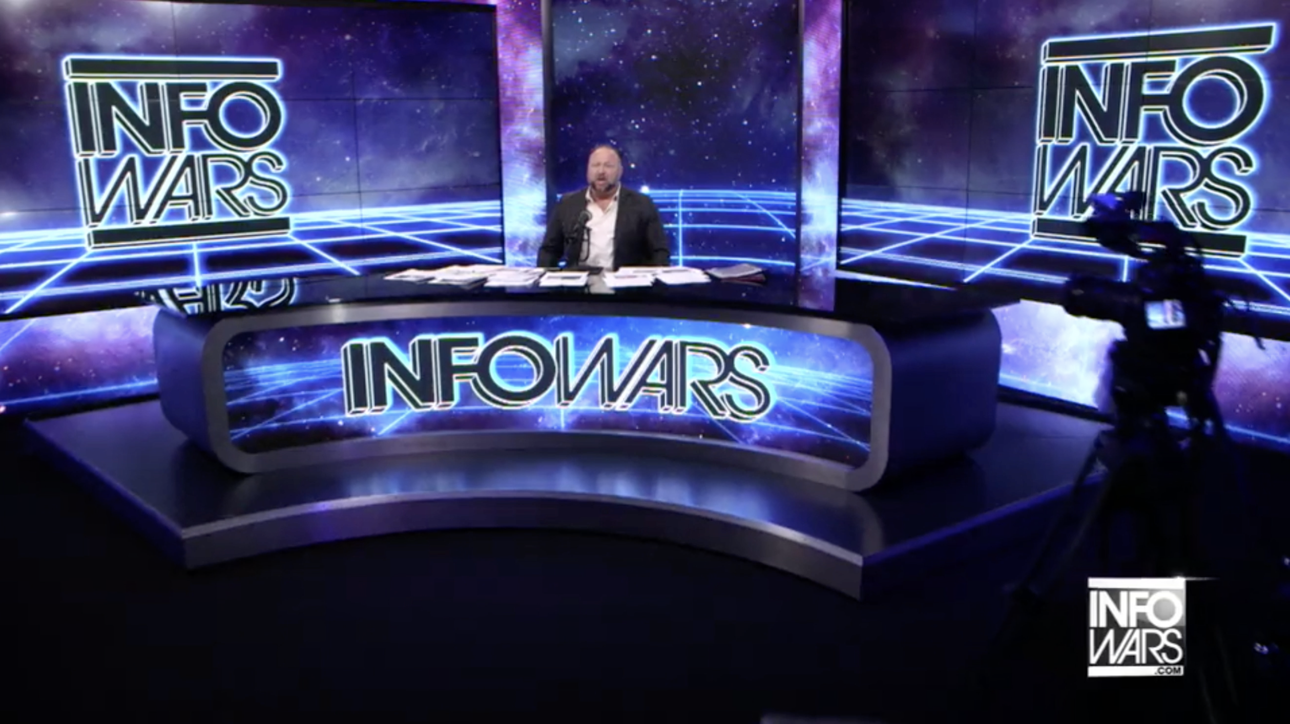 Alex Jones Infowars Studio The Resistance Video EXZM Zack Mount January 14th 2021