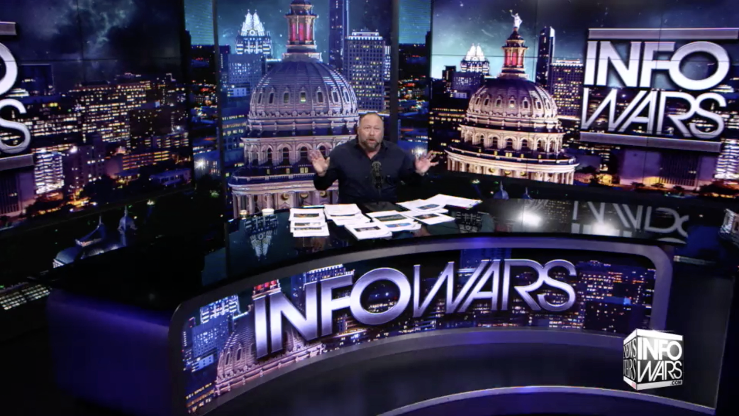 Alex Jones Infowars Studio The Resistance Video EXZM Zack Mount January 15th 2021