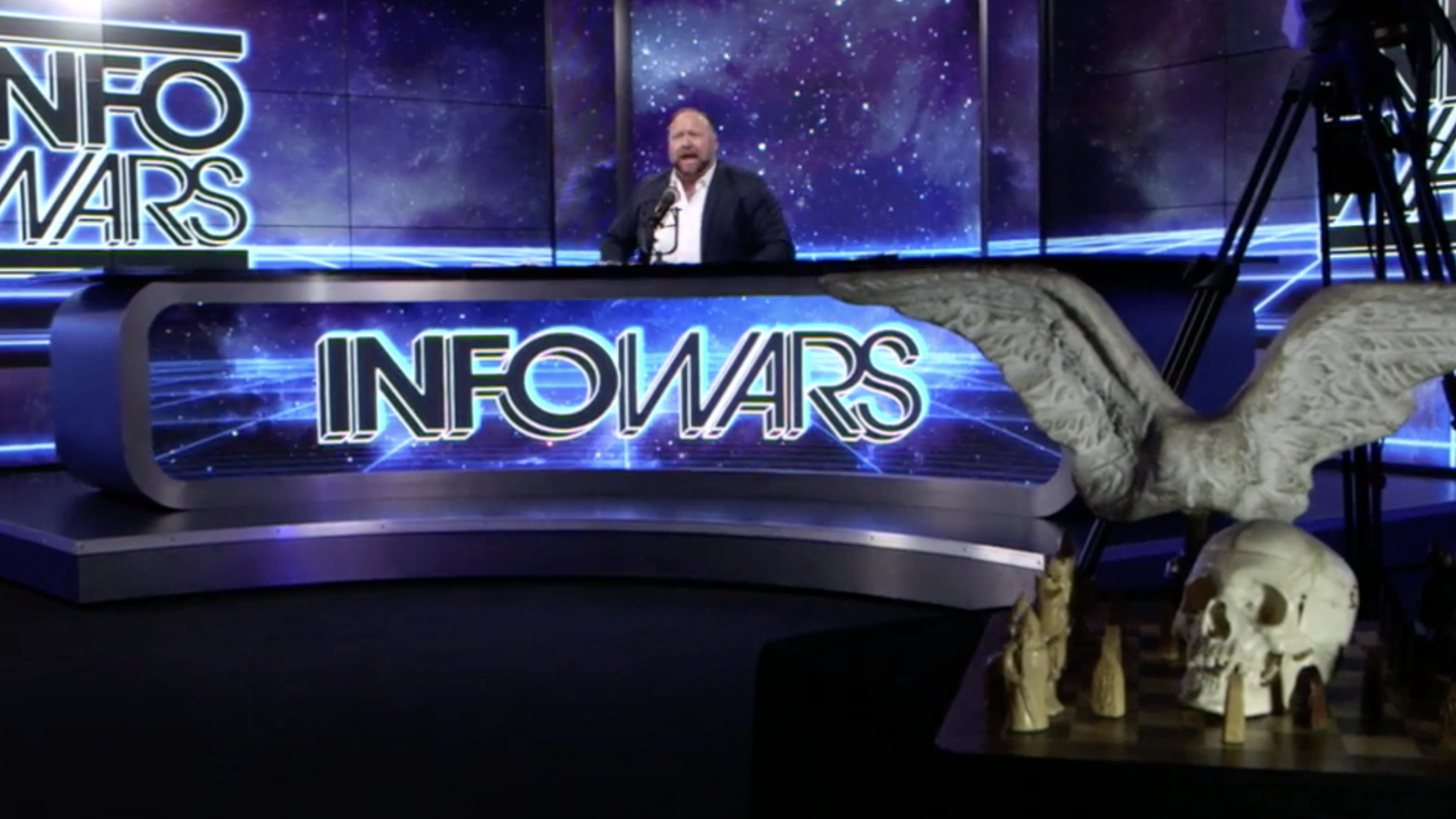 Alex Jones Infowars Studio The Resistance Video EXZM Zack Mount January 17th 2021