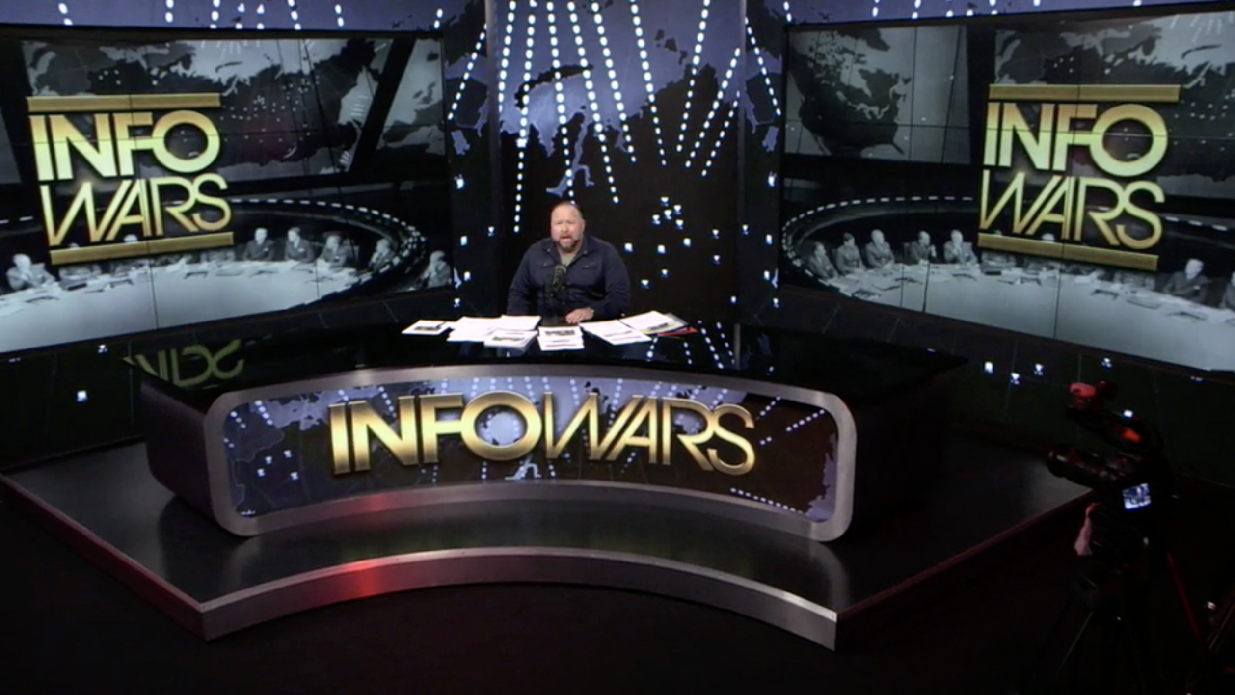 Alex Jones Infowars Studio The Resistance Video EXZM Zack Mount January 18th 2021
