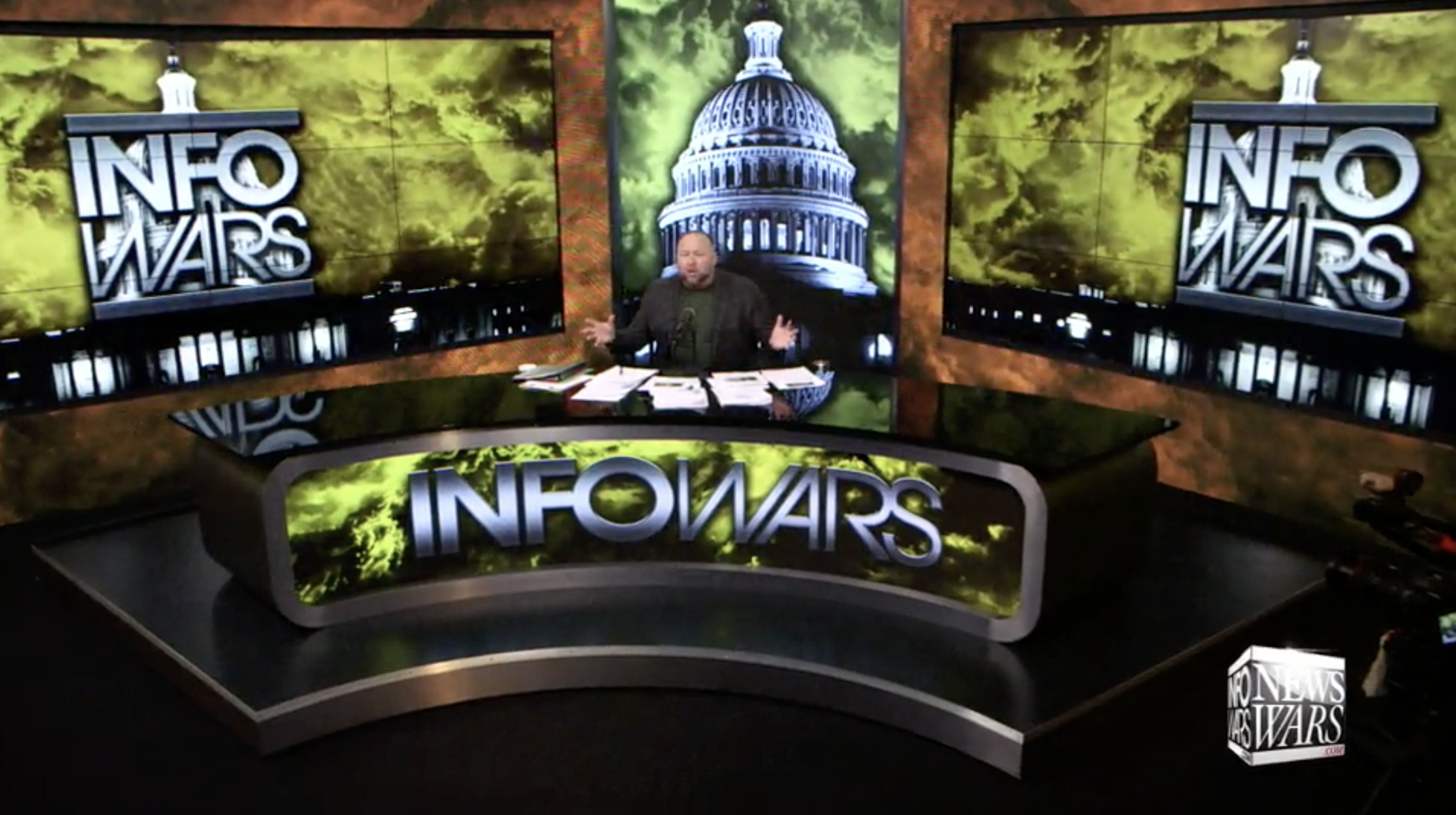 Alex Jones Infowars Studio The Resistance Video EXZM Zack Mount January 19th 2021 1