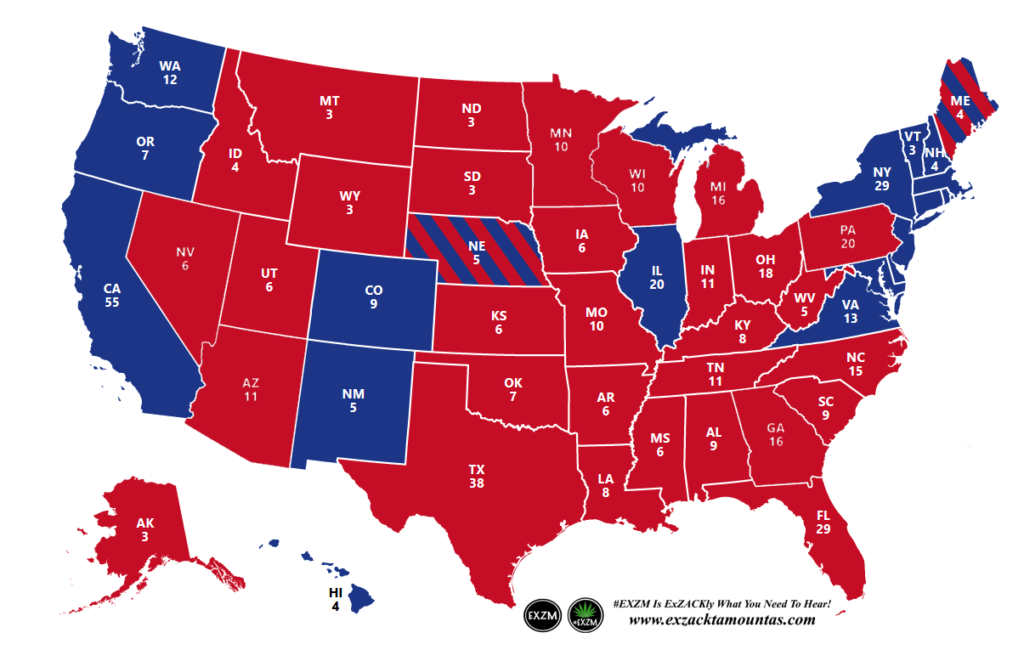 2020 Presidential Election Map-1205x778 EXZM Zack Mount February 4th 2021