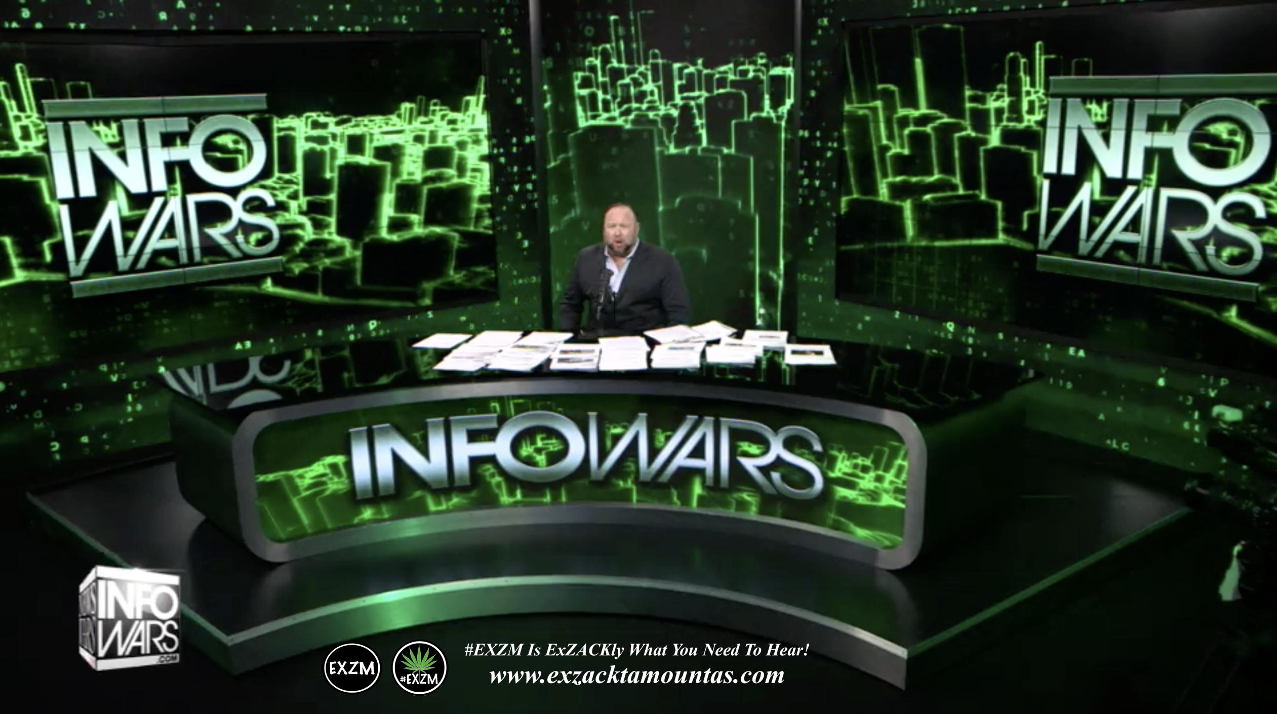 Alex Jones Live Infowars Studio EXZM Zack Mount February 22nd 2021 copy