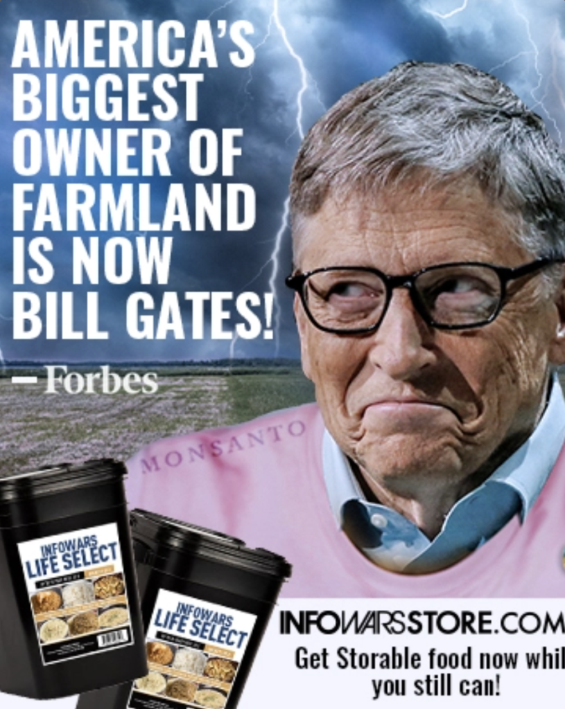 Infowars Store Storable Food Alex Jones Bill Gates EXZM Zack Mount February 4th 2021