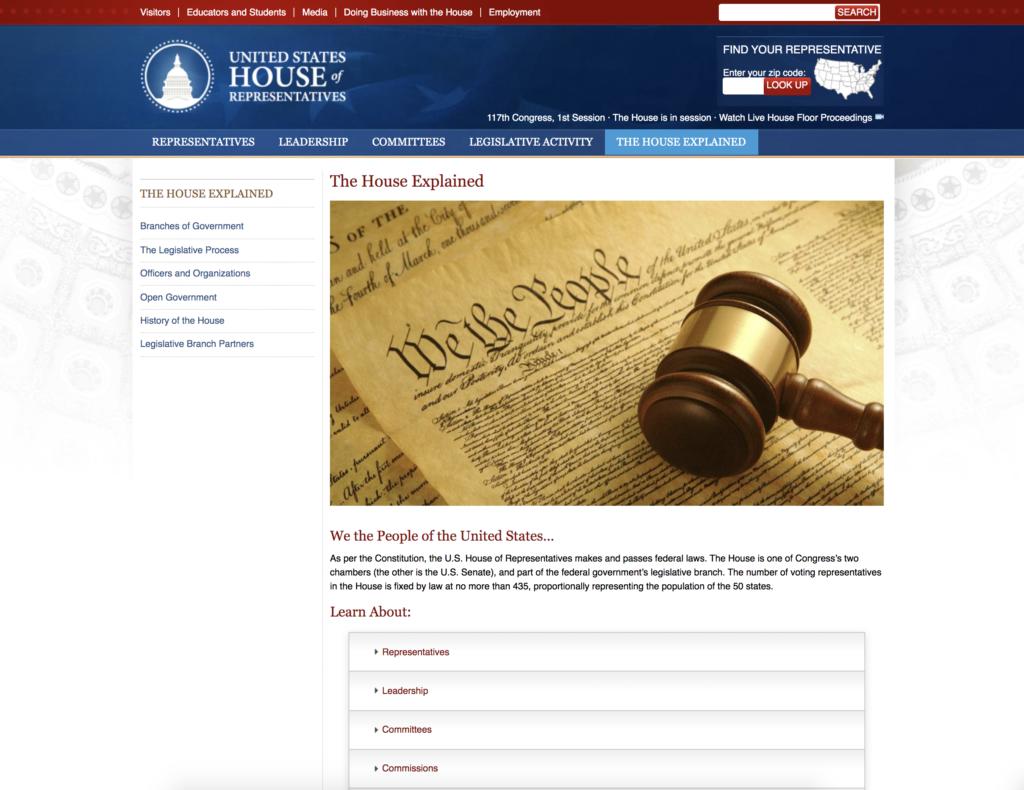 The House Explained Website EXZM Zack Mount February 5th 2021