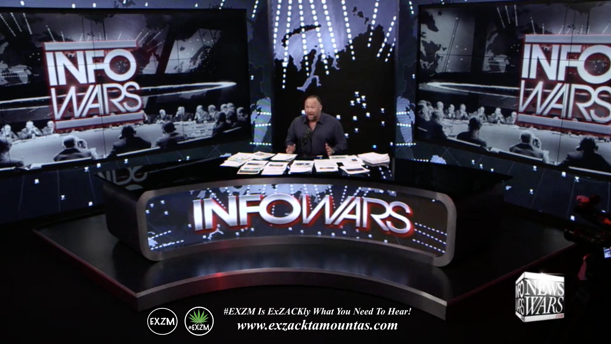 Alex Jones Live Infowars Studio EXZM Zack Mount March 4th 2021 copy