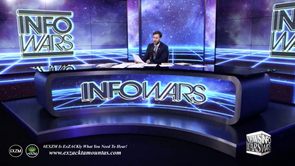 Alex Jones Live Infowars Studio Owen Shroyer EXZM Zack Mount March 5th 2021 copy