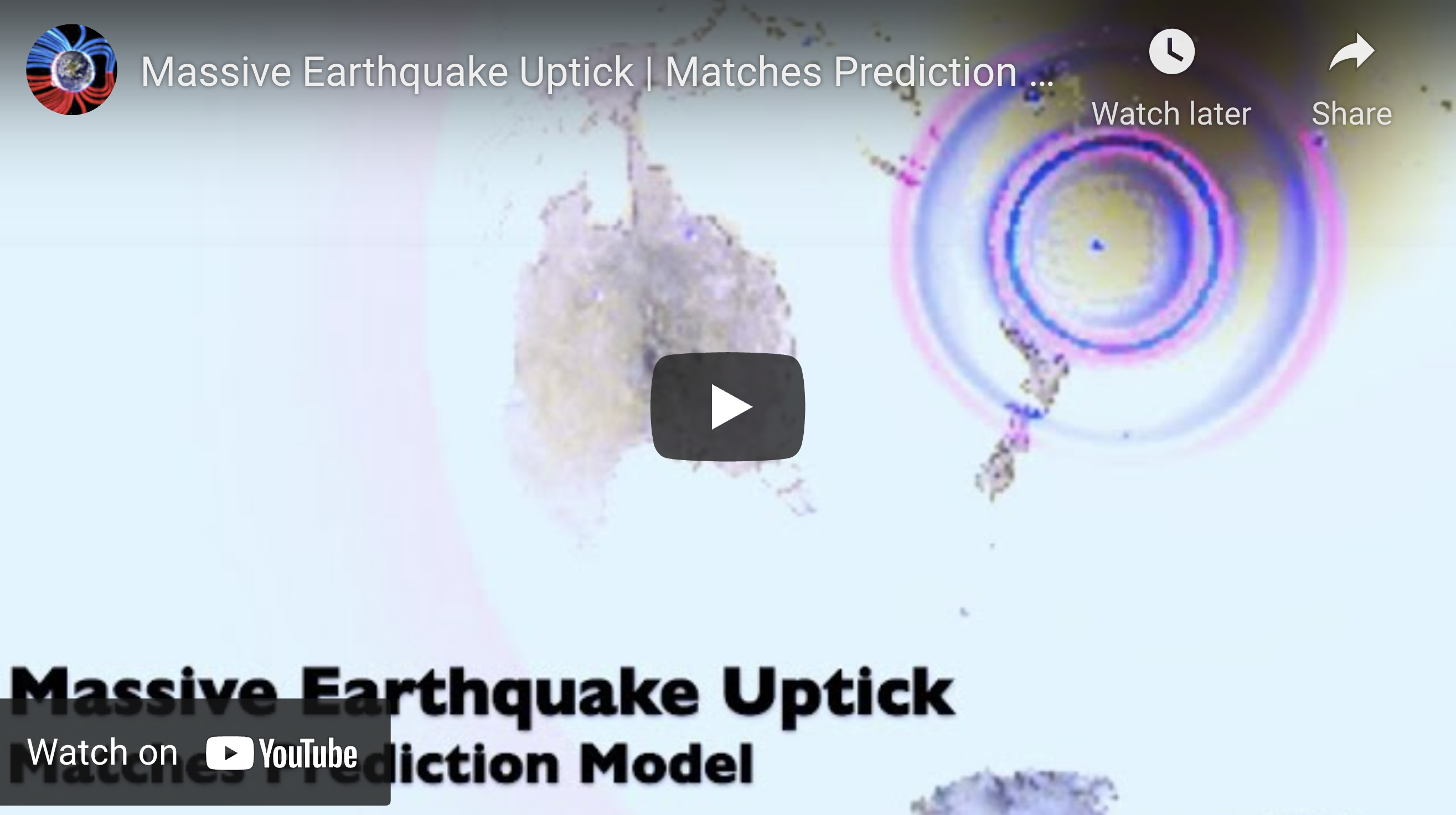 Suspicious Observers Post Massive Earthquake Uptick EXZM Zack Mount March 4th 2021 2
