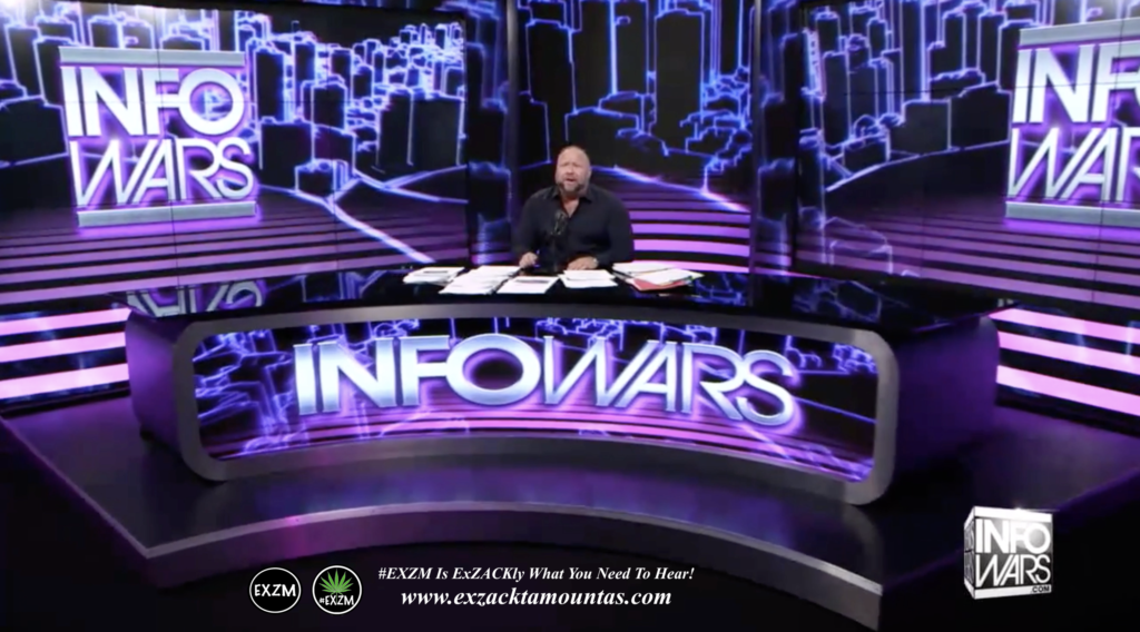 Alex Jones Live Infowars Studio EXZM Zack Mount April 1st 2021 copy