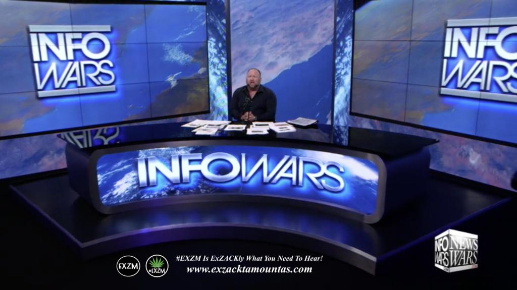Alex Jones Live Infowars Studio EXZM Zack Mount April 22nd 2021 copy