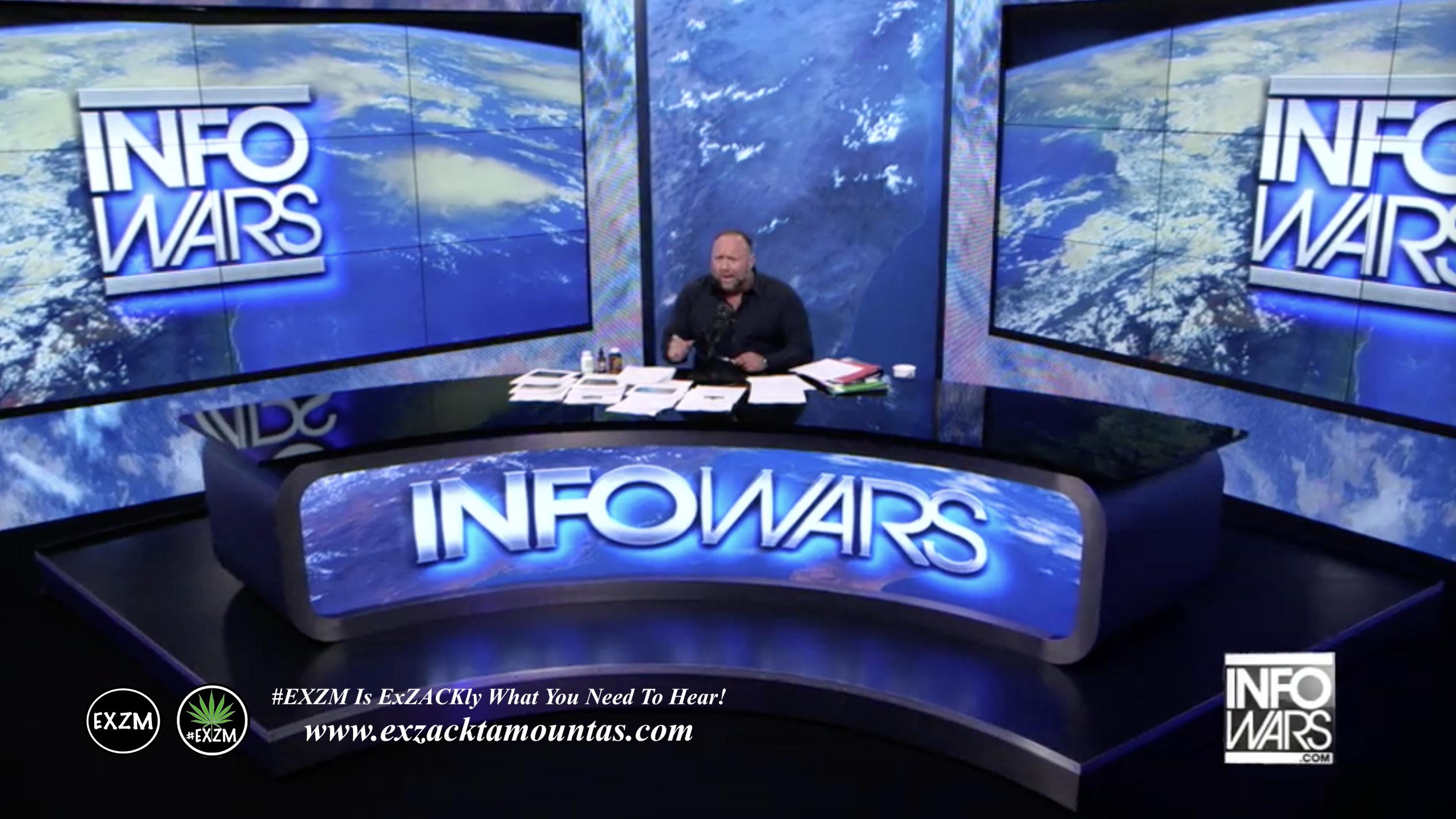 Alex Jones Live Infowars Studio EXZM Zack Mount April 26th 2021 copy