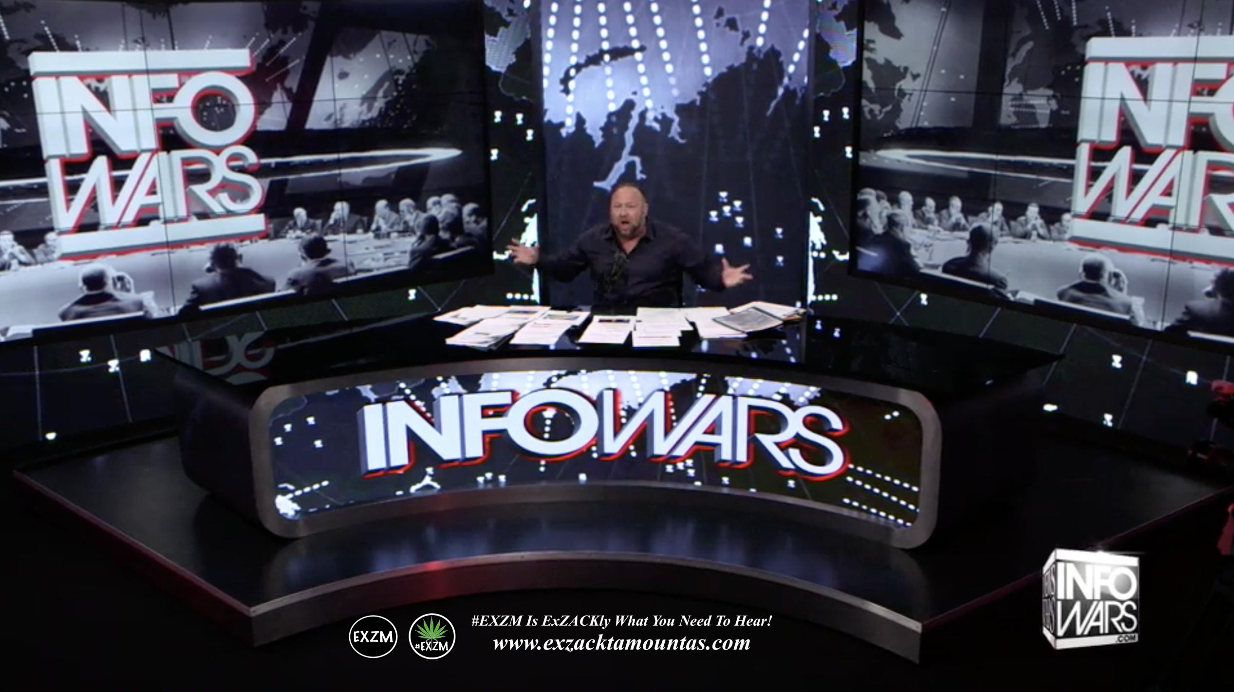 Alex Jones Live Infowars Studio EXZM Zack Mount April 28th 2021 copy