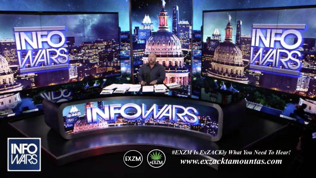 Alex Jones Live Infowars Studio EXZM Zack Mount April 30th 2021 copy