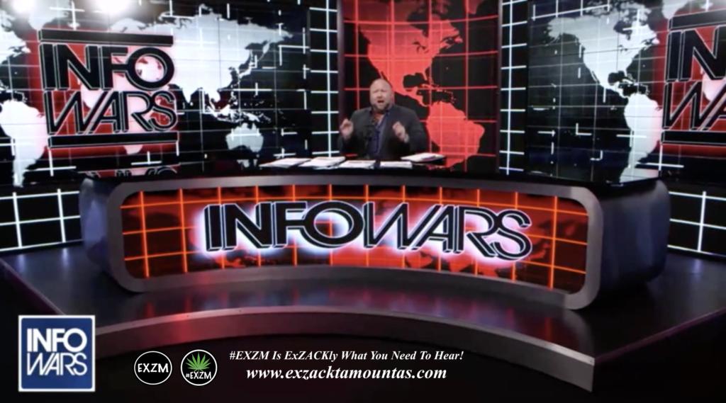 Alex Jones Live Infowars Studio EXZM Zack Mount March 23rd 2021 copy