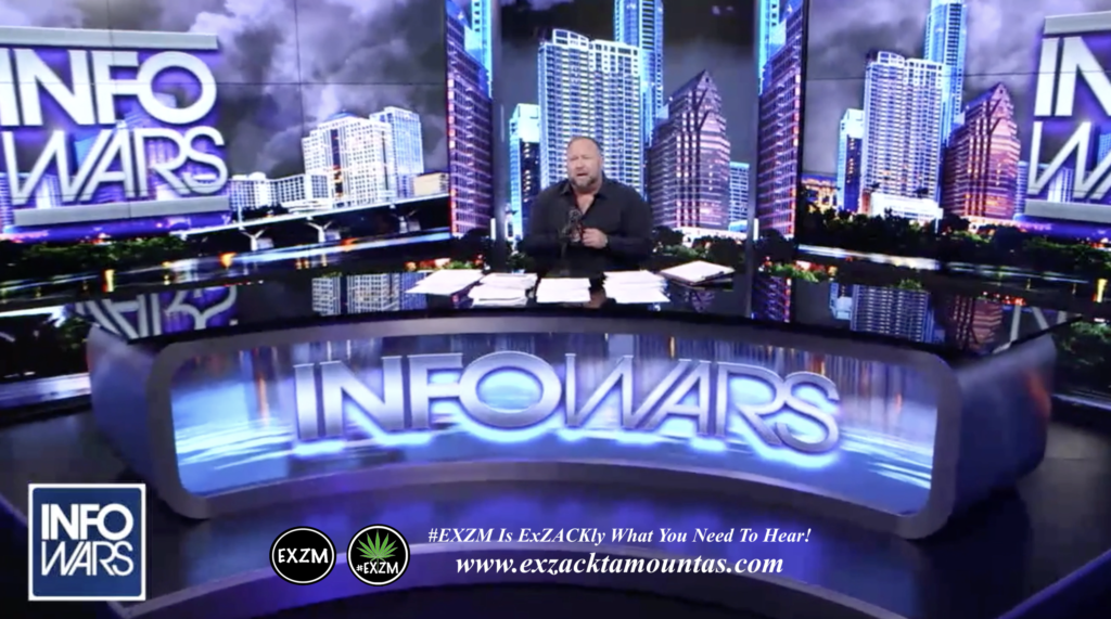 Alex Jones Live Infowars Studio EXZM Zack Mount March 25th 2021 copy