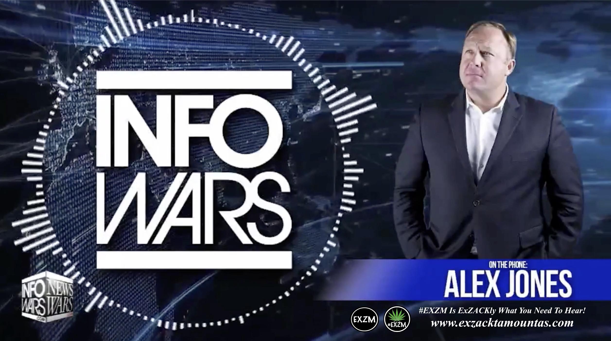Alex Jones Live Infowars Studio EXZM Zack Mount March 28th 2021 copy