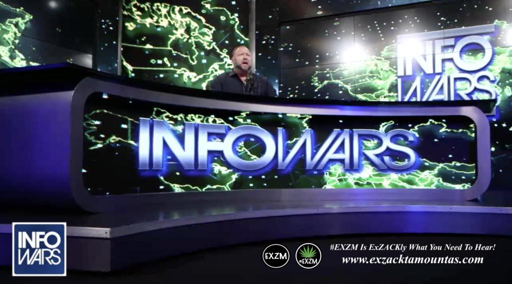 Alex Jones Live Infowars Studio EXZM Zack Mount March 29th 2021 copy